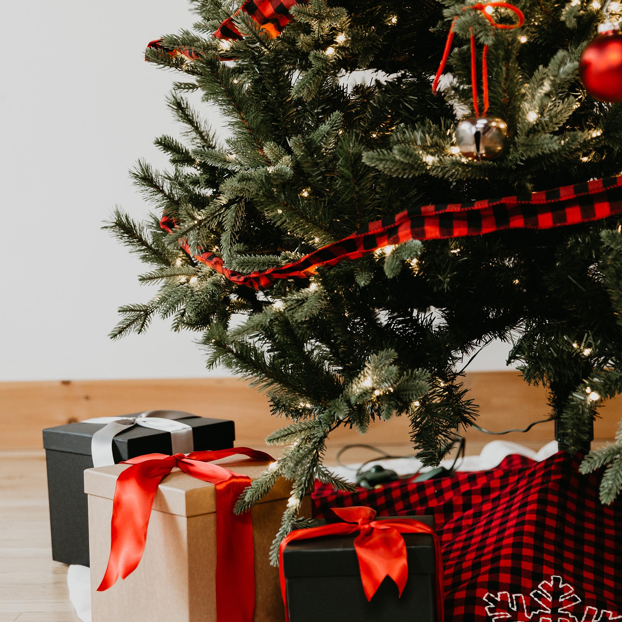 Copper Pine Paint Metal Tree Collar Seasonal Decor Home Kitchen