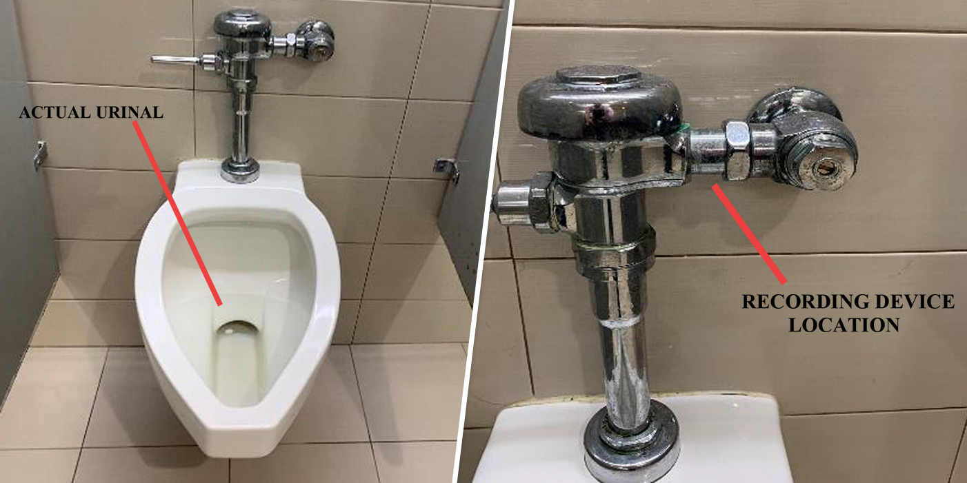 New Jersey Man Found Camera Taped To Urinal At His Company S Office Suit Says