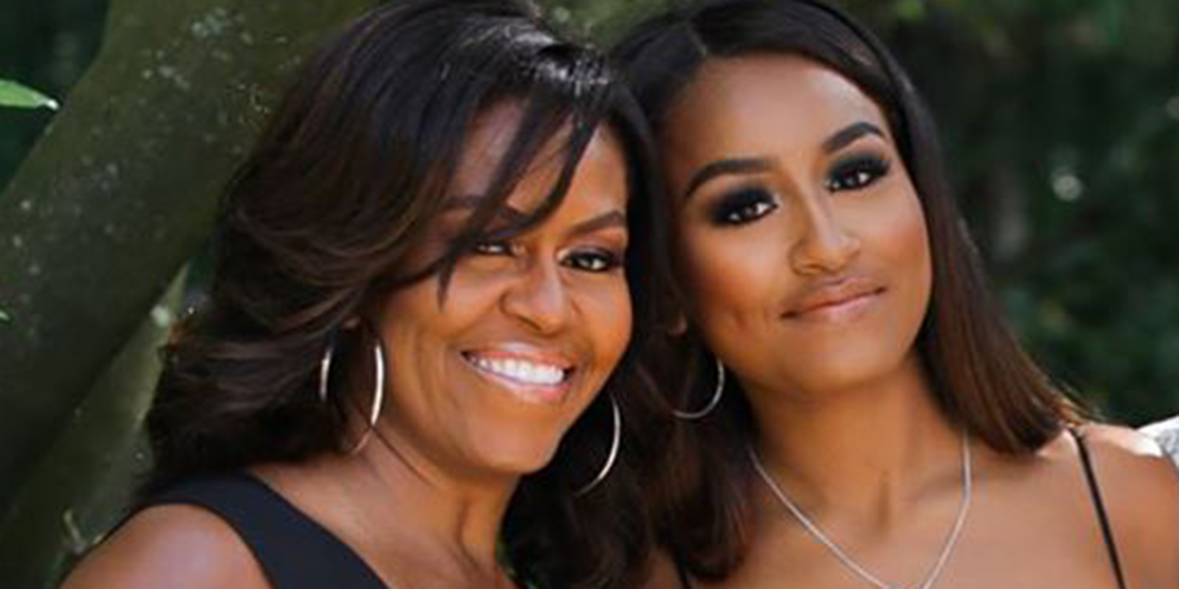Michelle Obama Opens Up About Dropping Sasha Off At College,What Color Goes With Purple And Green