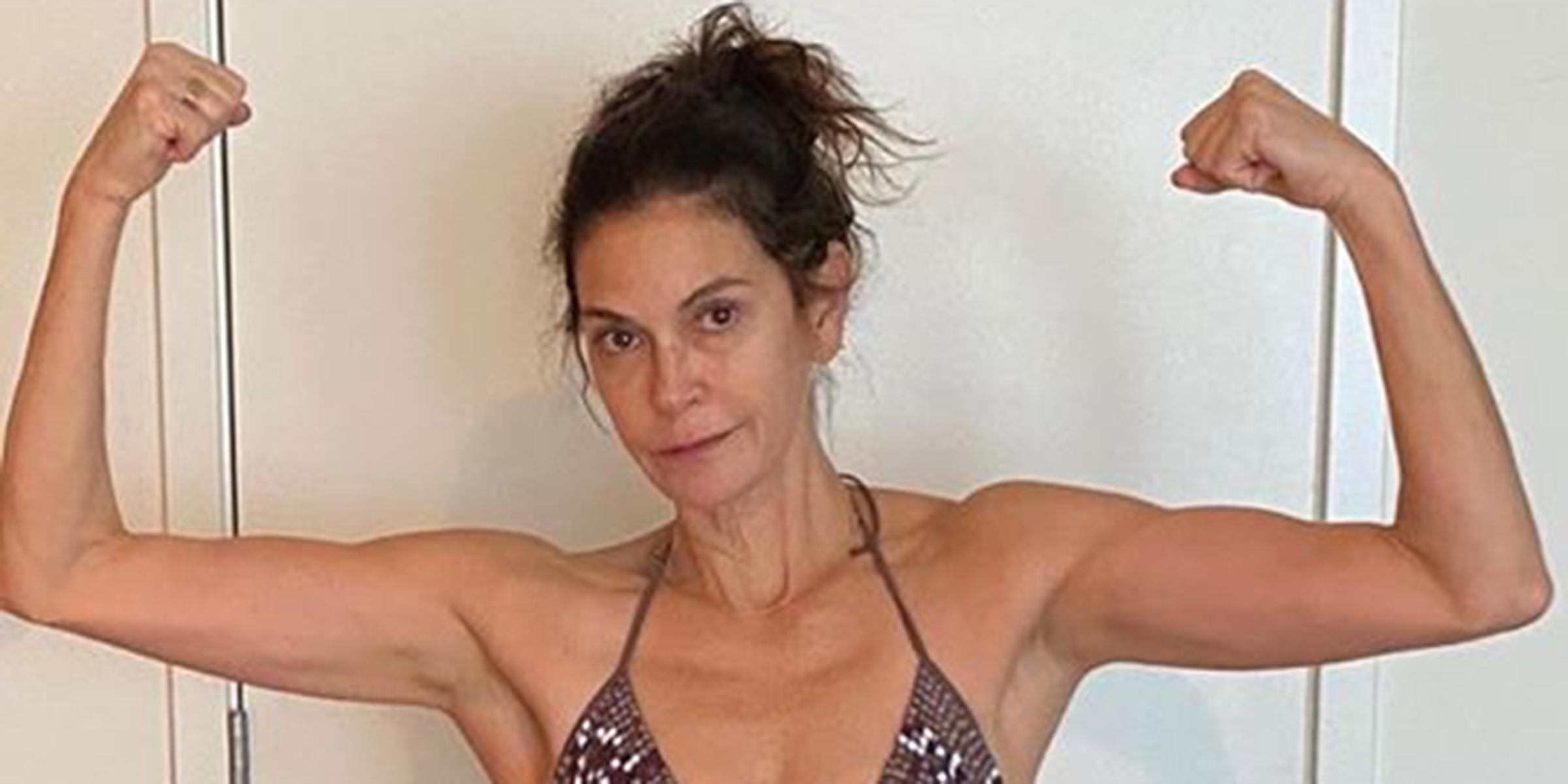 Teri Hatcher, 55, shares body positive bikini photo