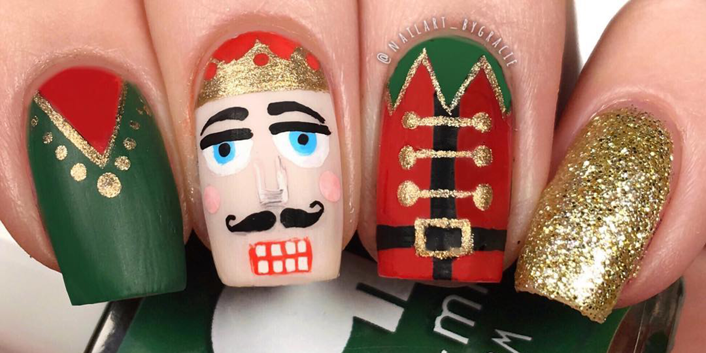 Holiday nails 2019 15 Christmas nails designs to try