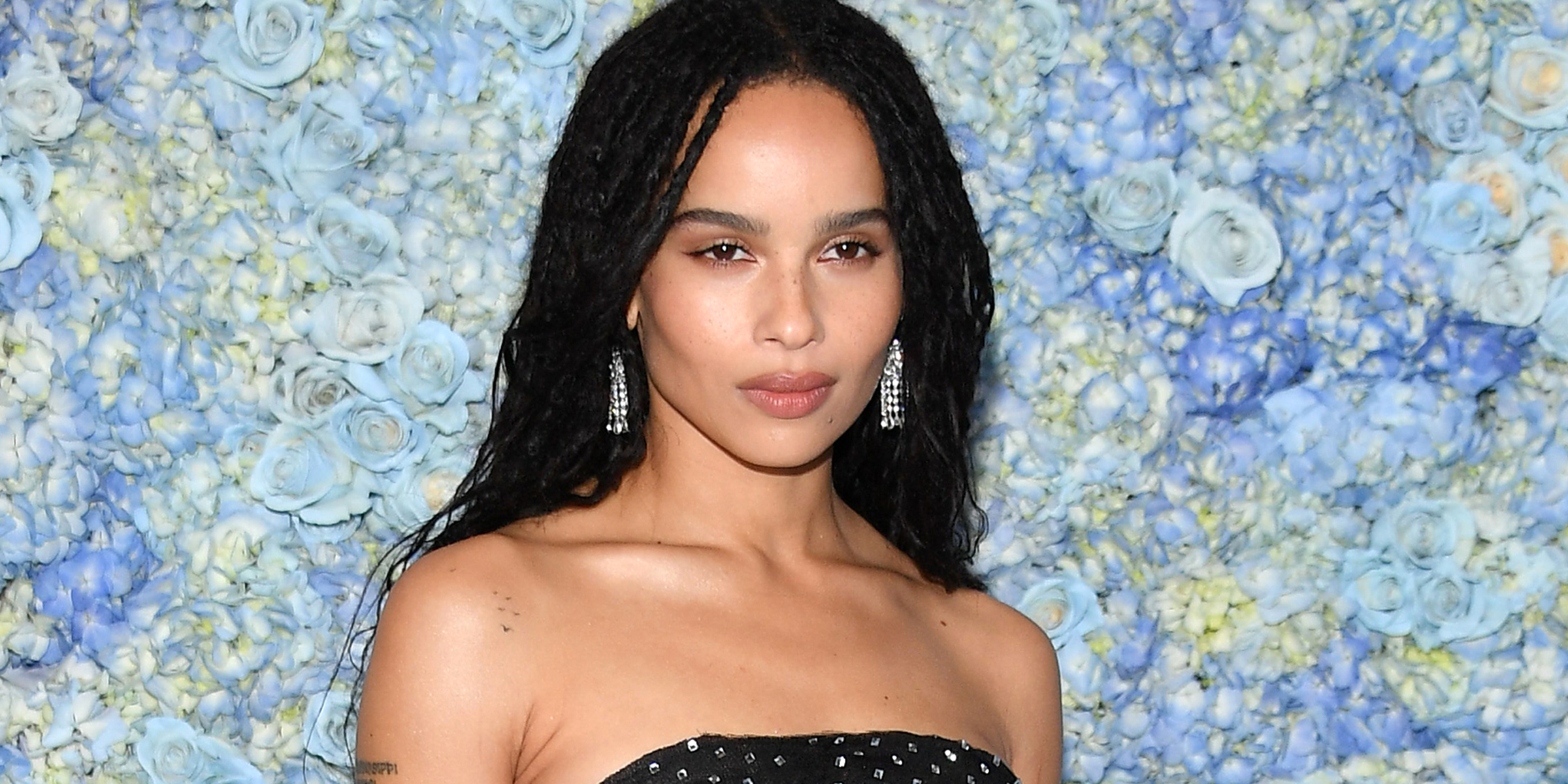 Zoe Kravitz Just Revealed Her Wedding Dress And It Reminds