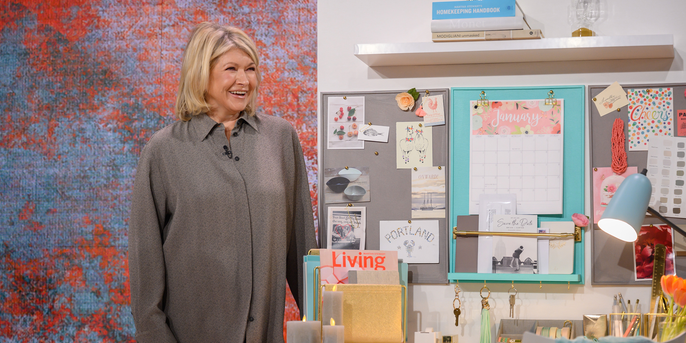 Martha Stewart Shares Her Favorite Tips For Staying Organized