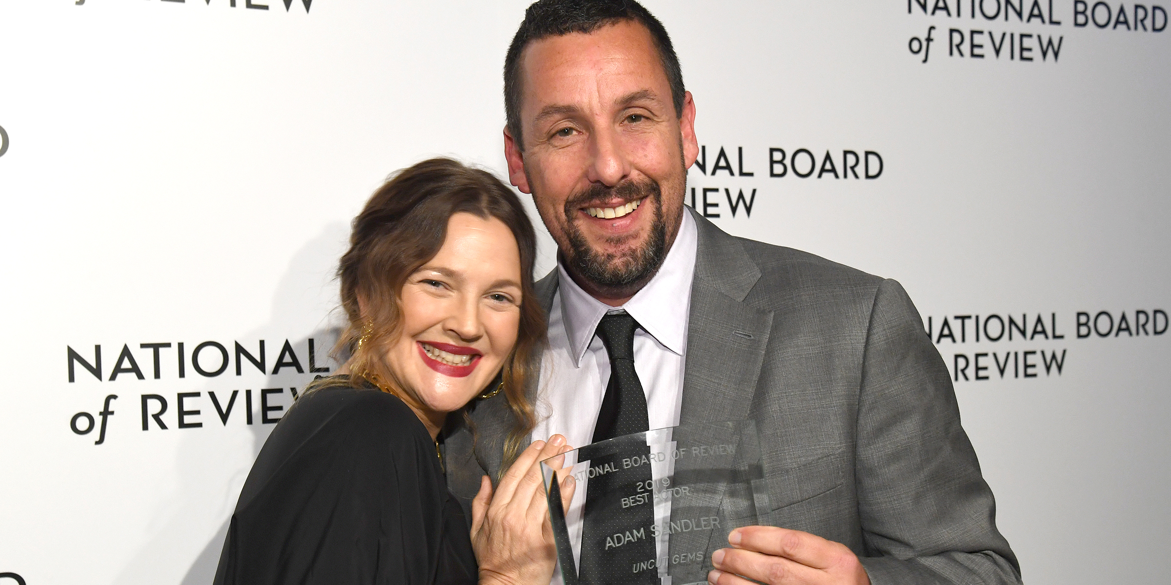 Adam Sandler Gets Emotional As He Thanks Friend Drew Barrymore