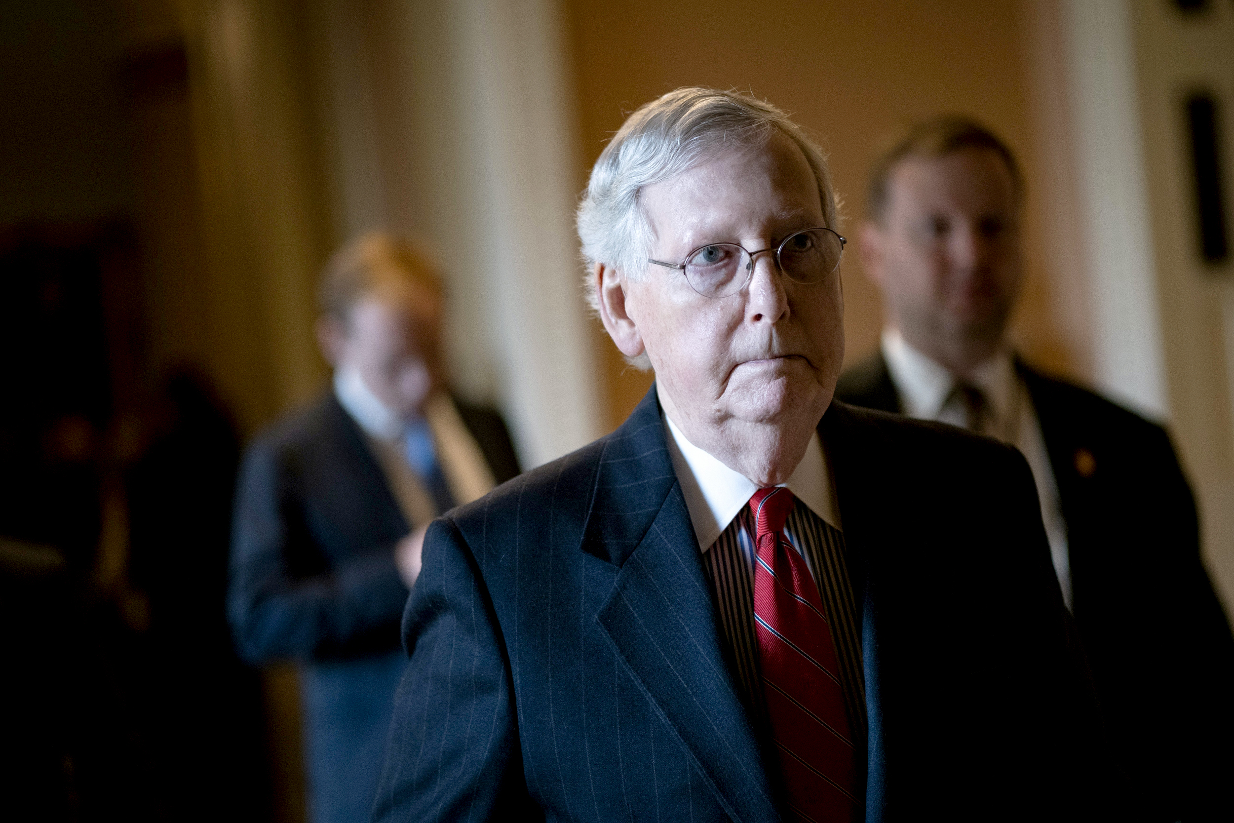 Where Did Mitch Mcconnell Go For Christmas Vacation 2020 McConnell suggests House impeachment timing could push Senate