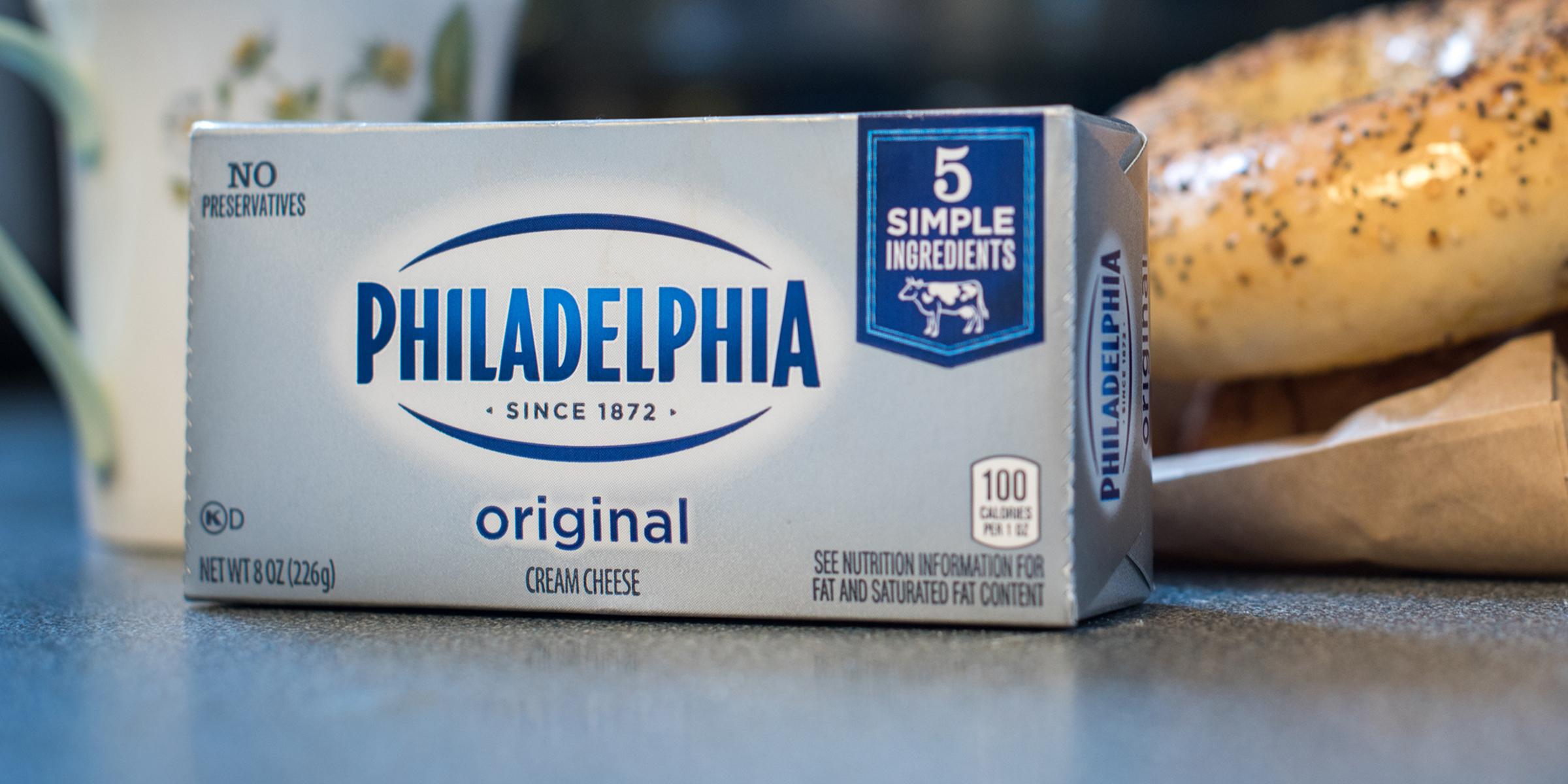 Philadelphia cream cheese isn't