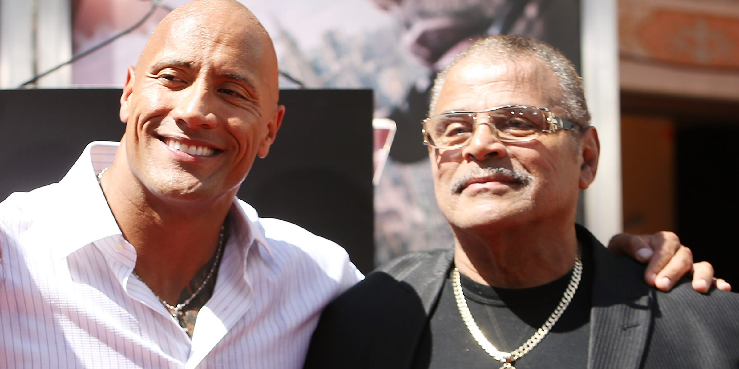 Dwayne Johnson pays tribute to late father on Instagram