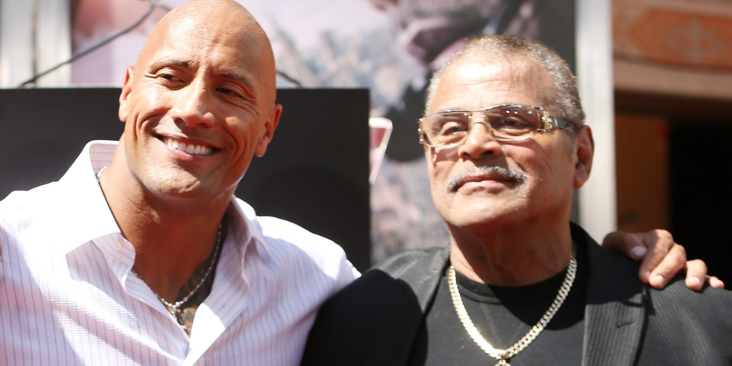 Dwayne Johnson reveals dad Rocky Johnson's cause of death