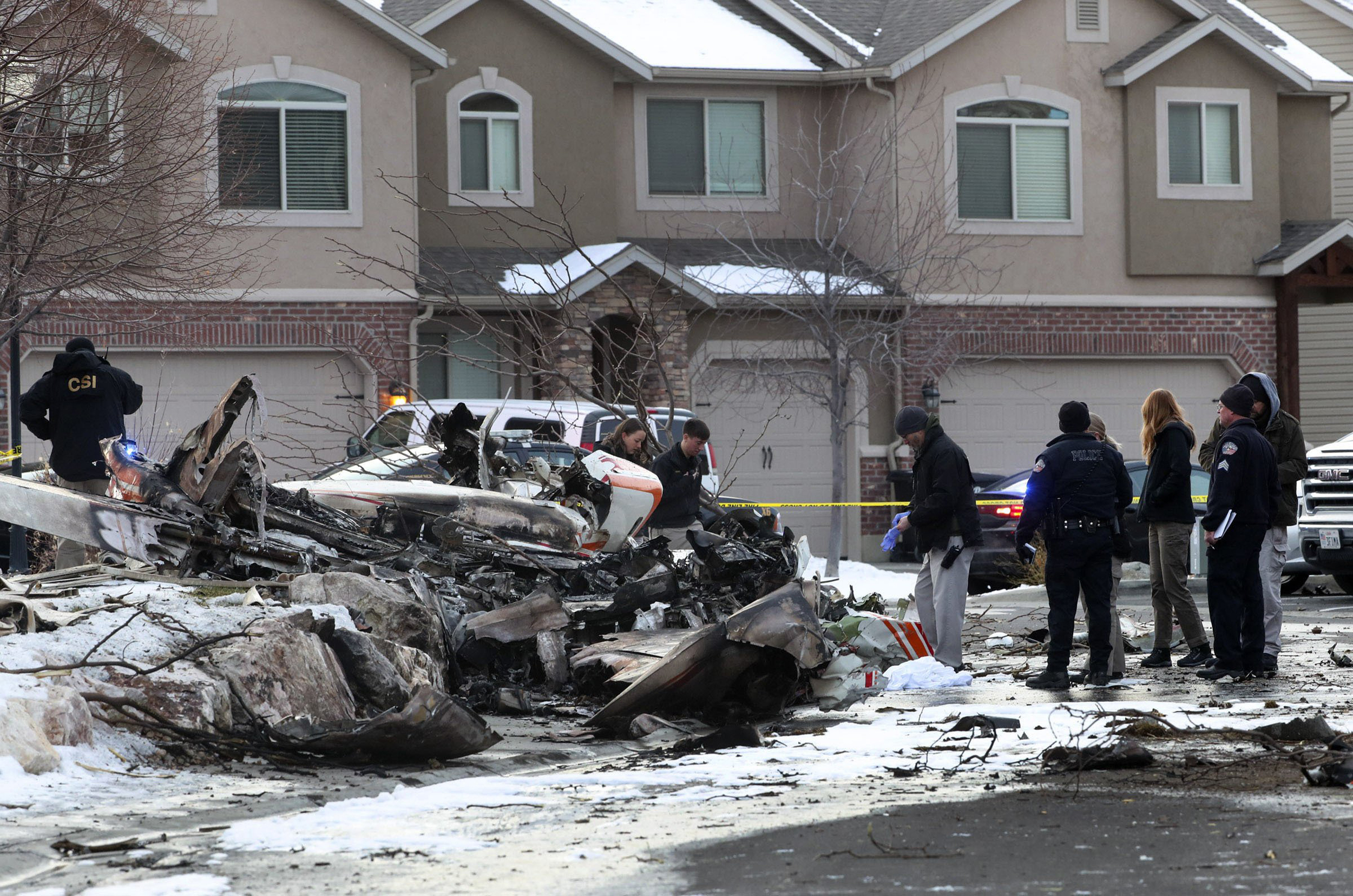 Image: Utah plane crash
