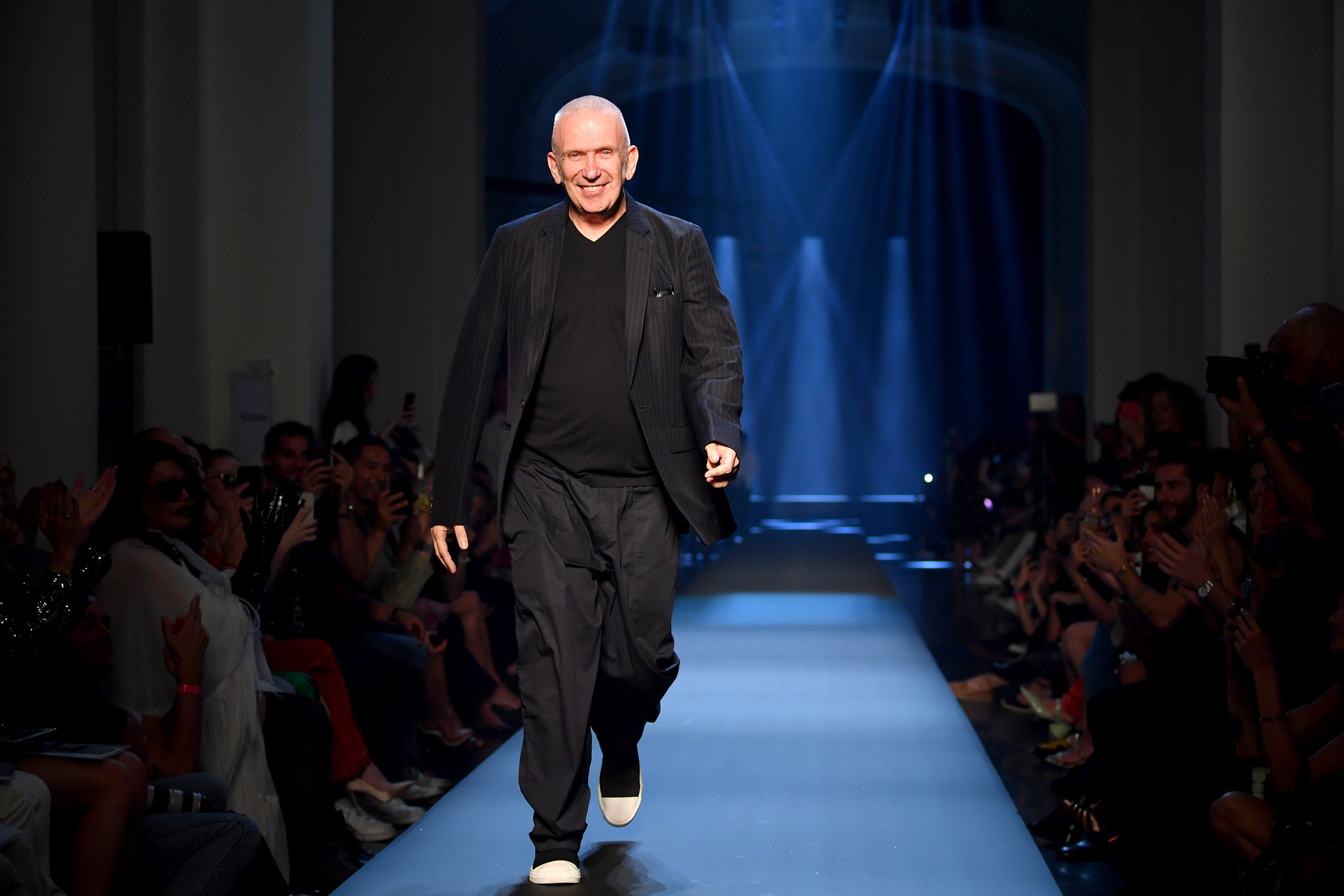 Fashion Designer Jean Paul Gaultier Bids Farewell To The Catwalk