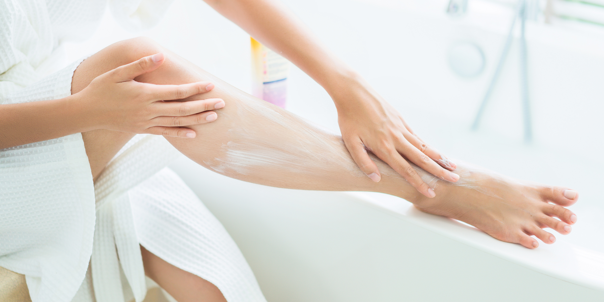 You can apply this lotion directly to wet skin — and it's a game changer