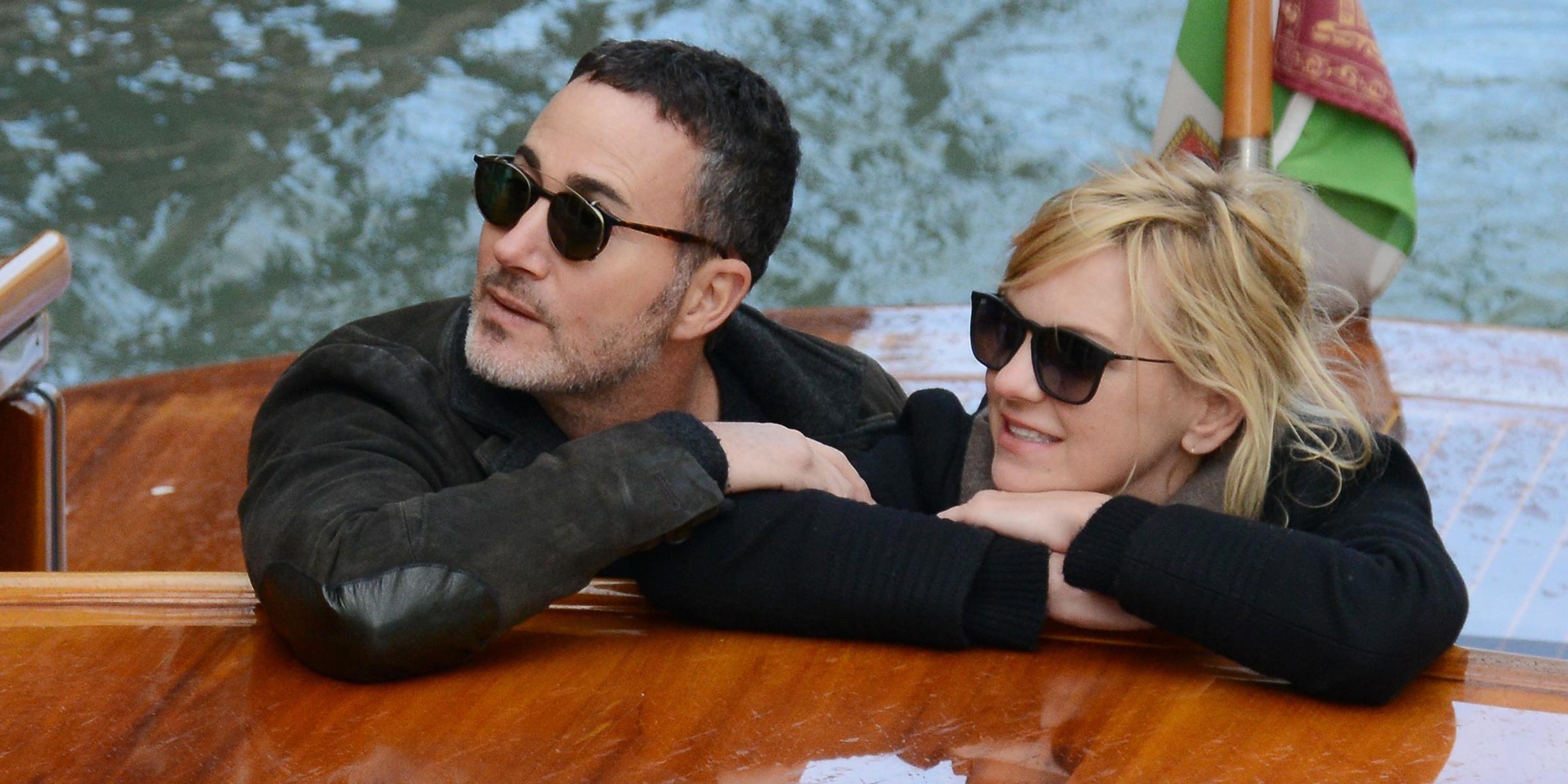 Anna Faris and boyfriend Michael Barrett