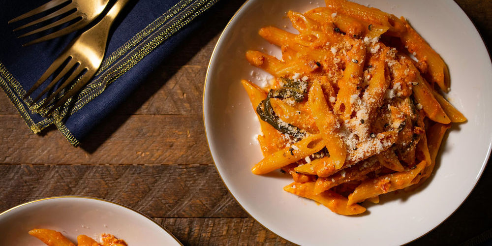 Make restaurant-quality penne alla vodka at home in under 30 minutes