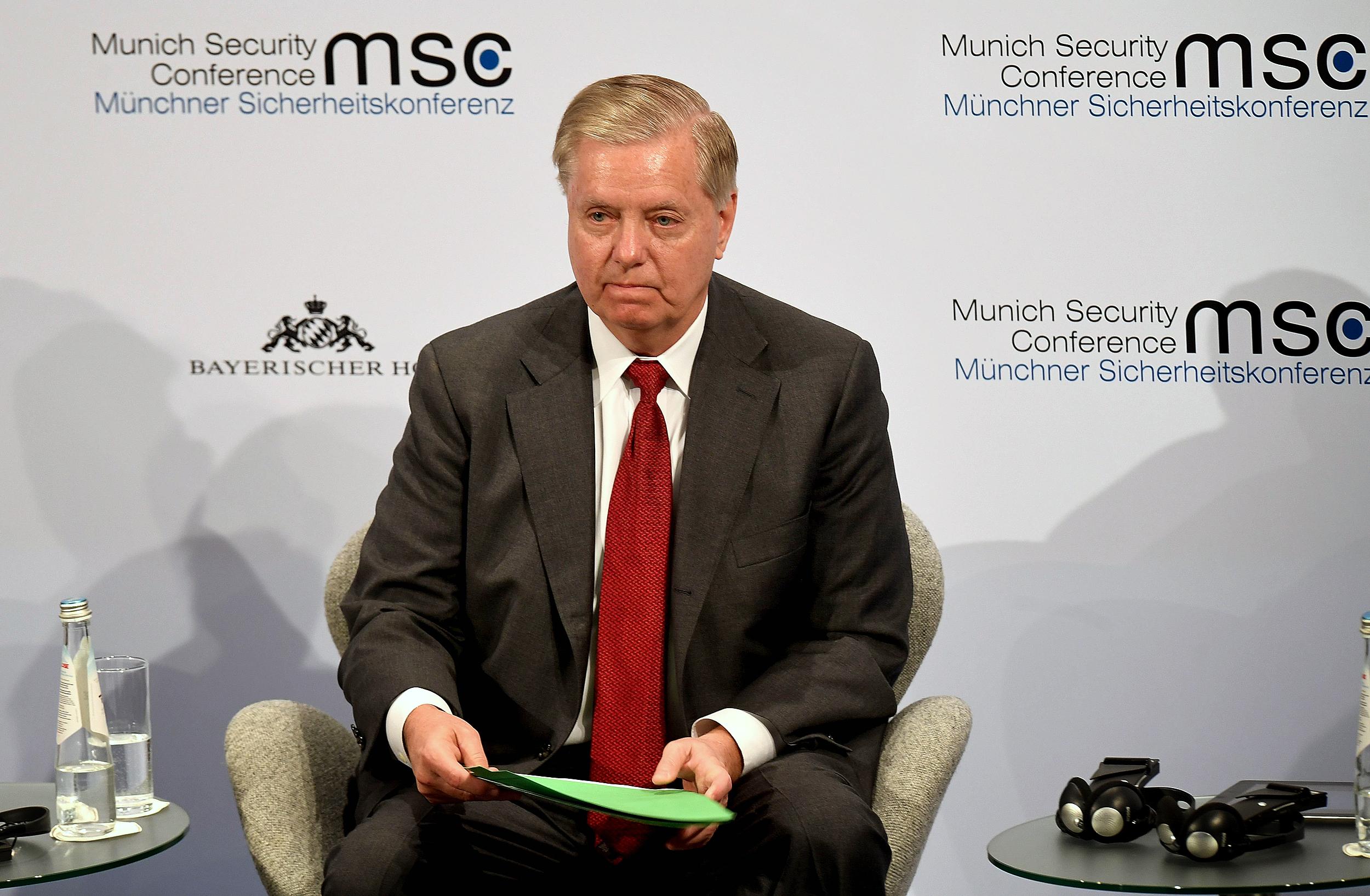 Image: Sen. Lindsey Graham in Munich