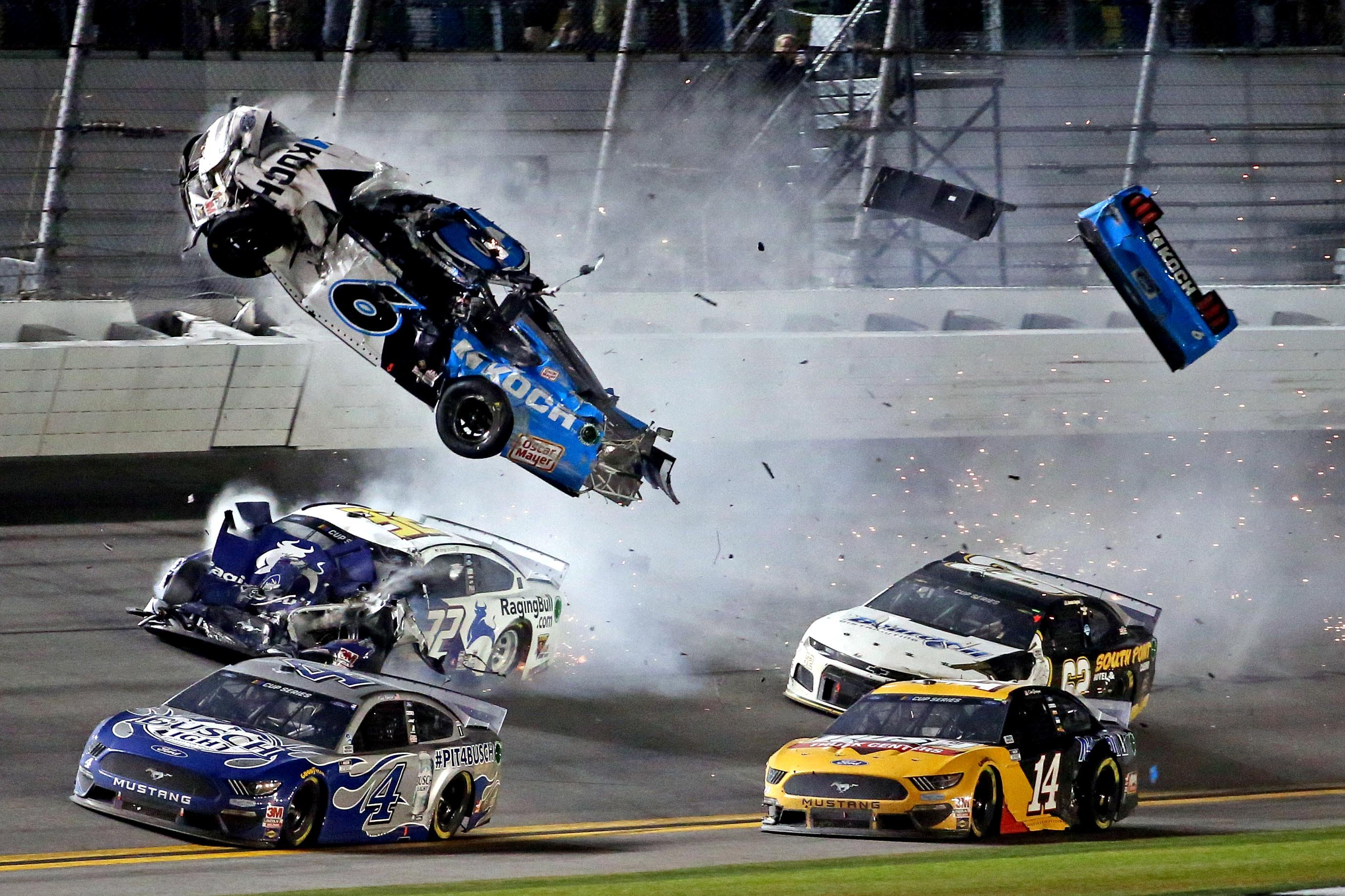 Ryan Newman In Serious Condition After Fiery Crash At Daytona 500