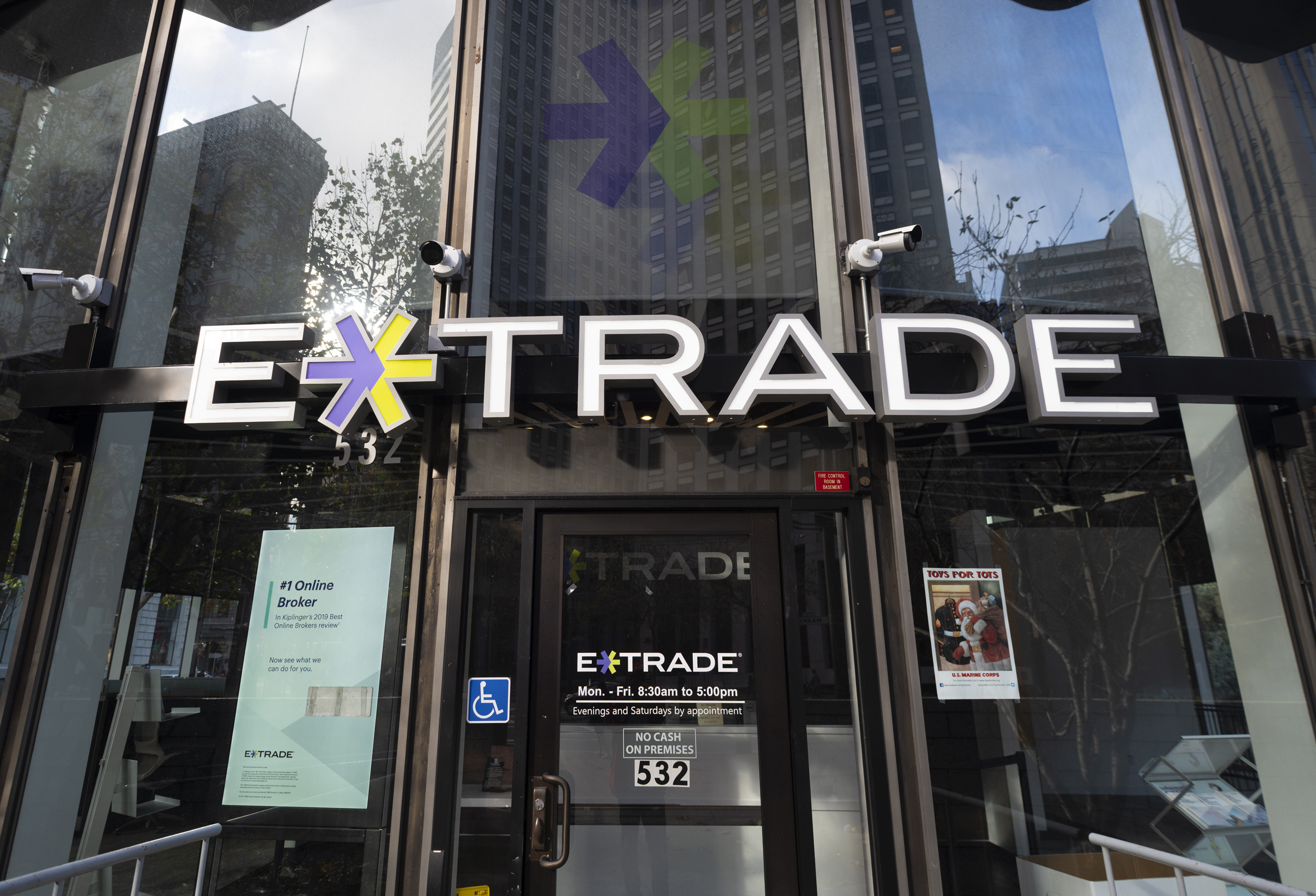 e trade building