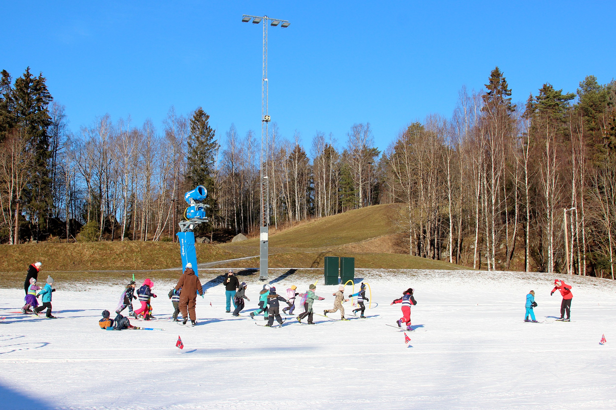 Artificial Snow It/'s Snow Time! Its Snow Time