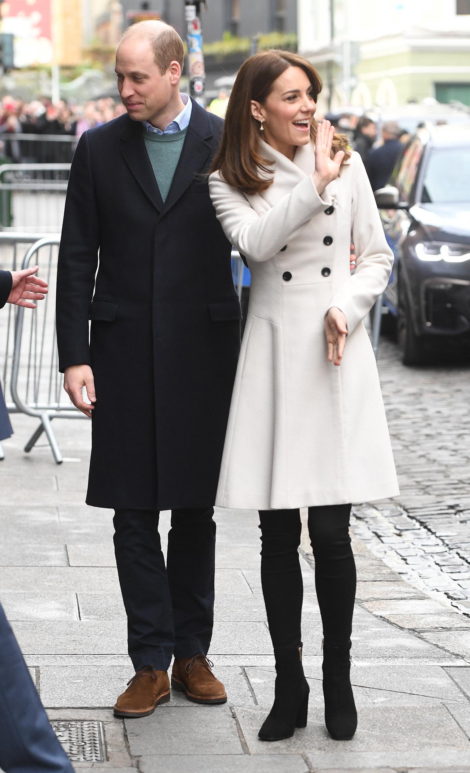 Kate Middleton new haircut, Kate Middleton Ireland
