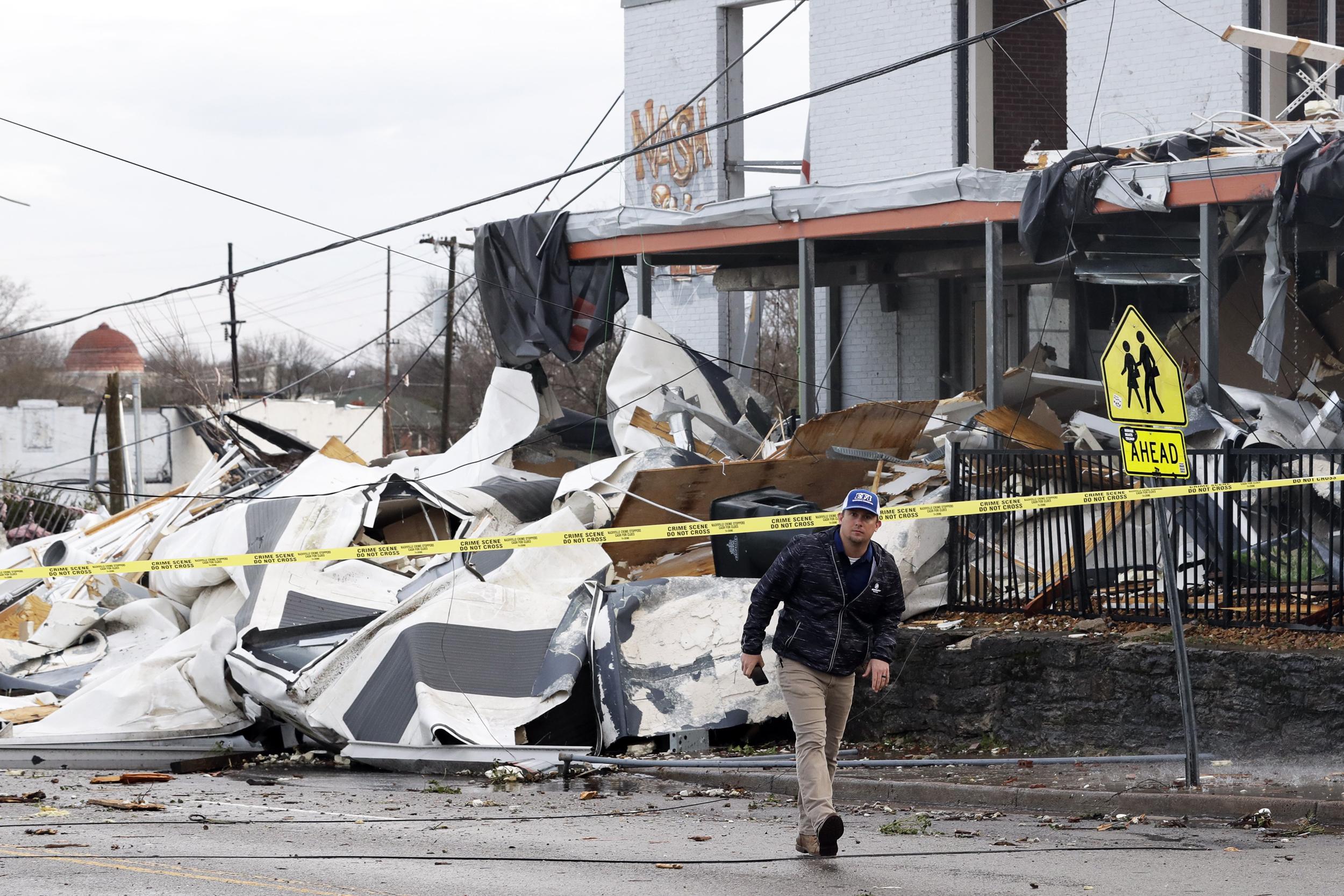 Nashville tornado tuesday march 3