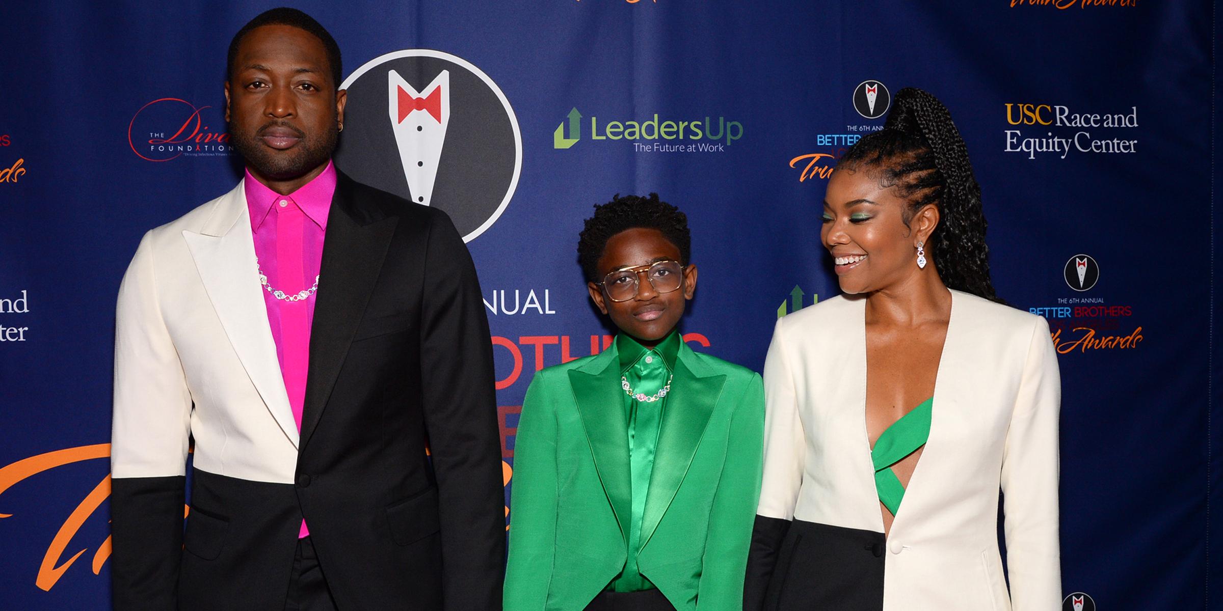 Dwyane Wade's 12-year-old daughter, Zaya, makes her red carpet debut