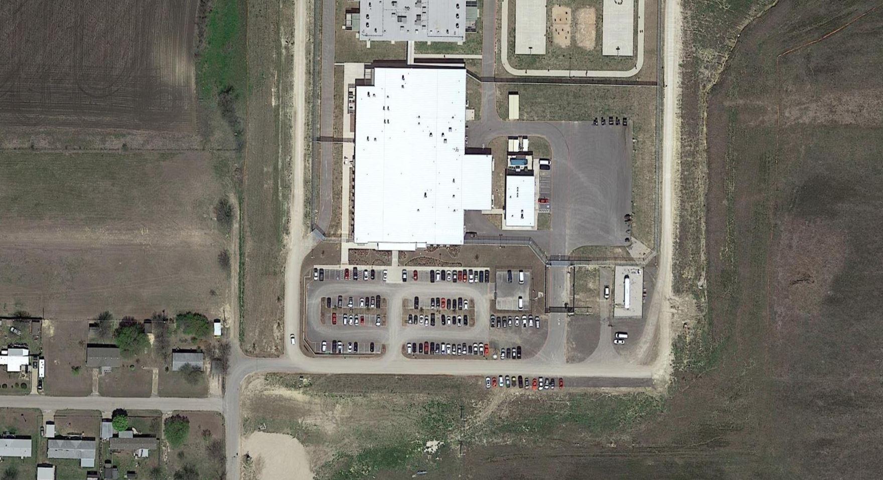 The Prairieland Detention Center in Alvarado, Texas. (Google)