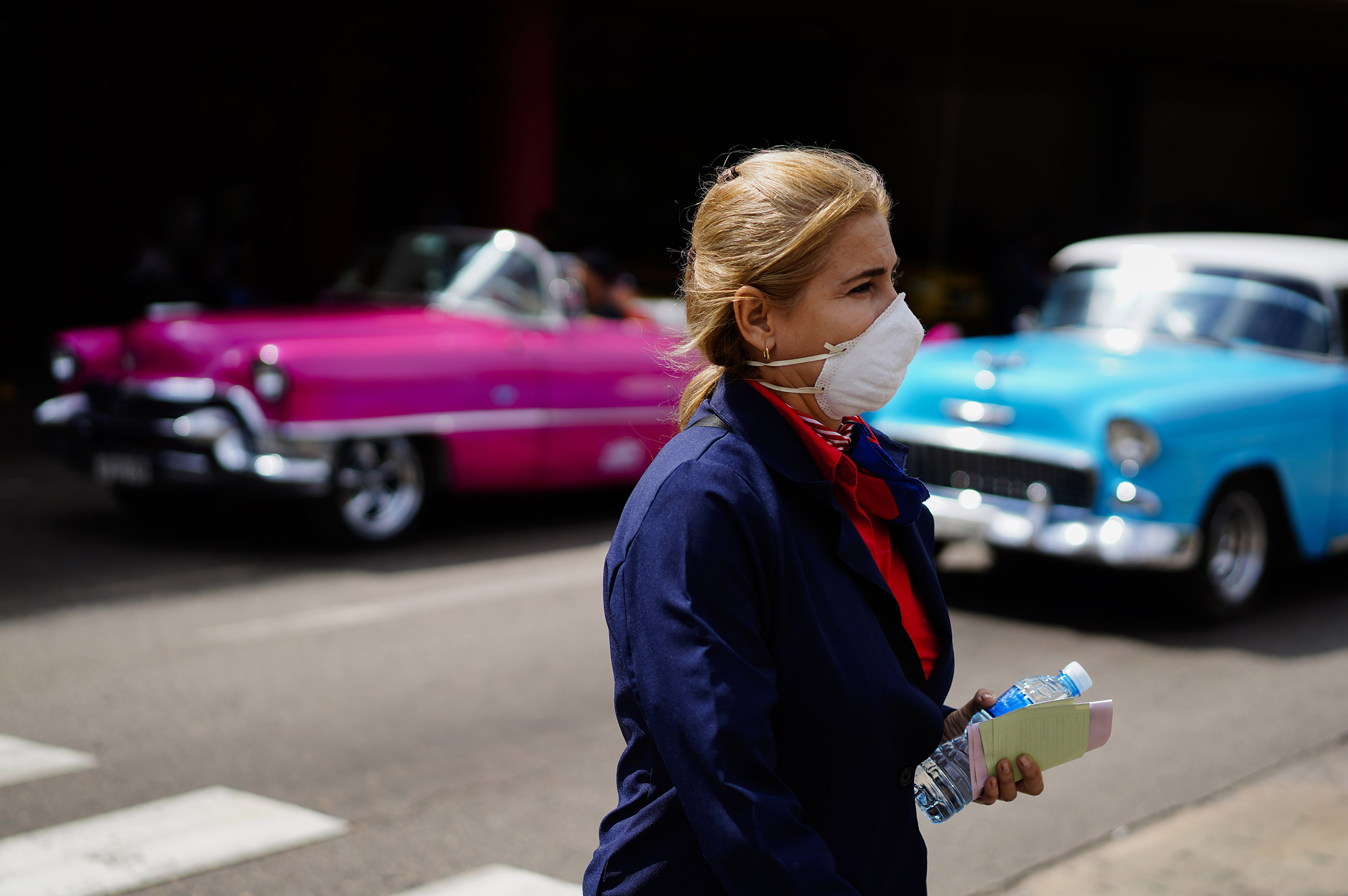 Cuba confirms first coronavirus cases, tells people to make their own masks