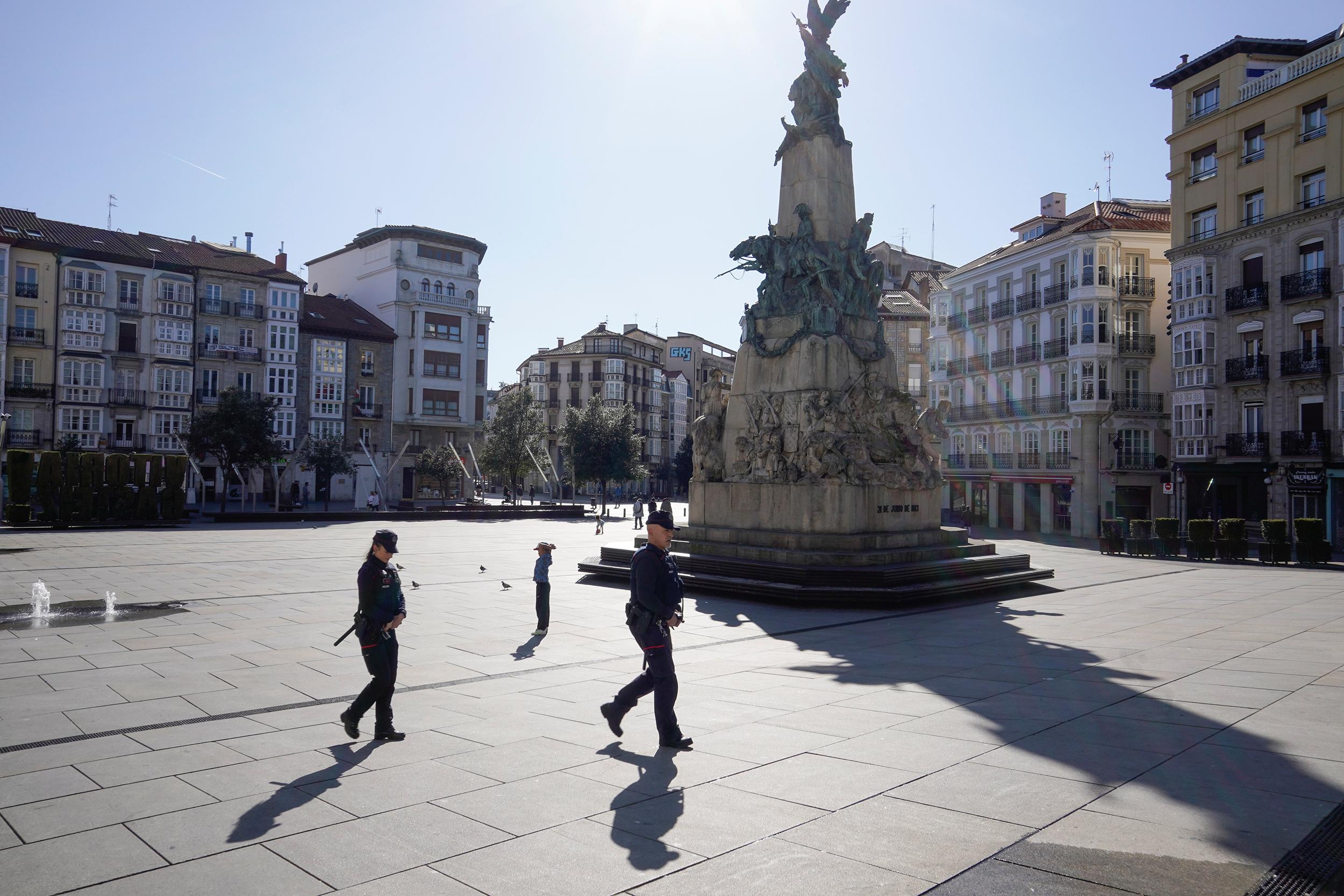 Spanish Prime Minister Declares State
