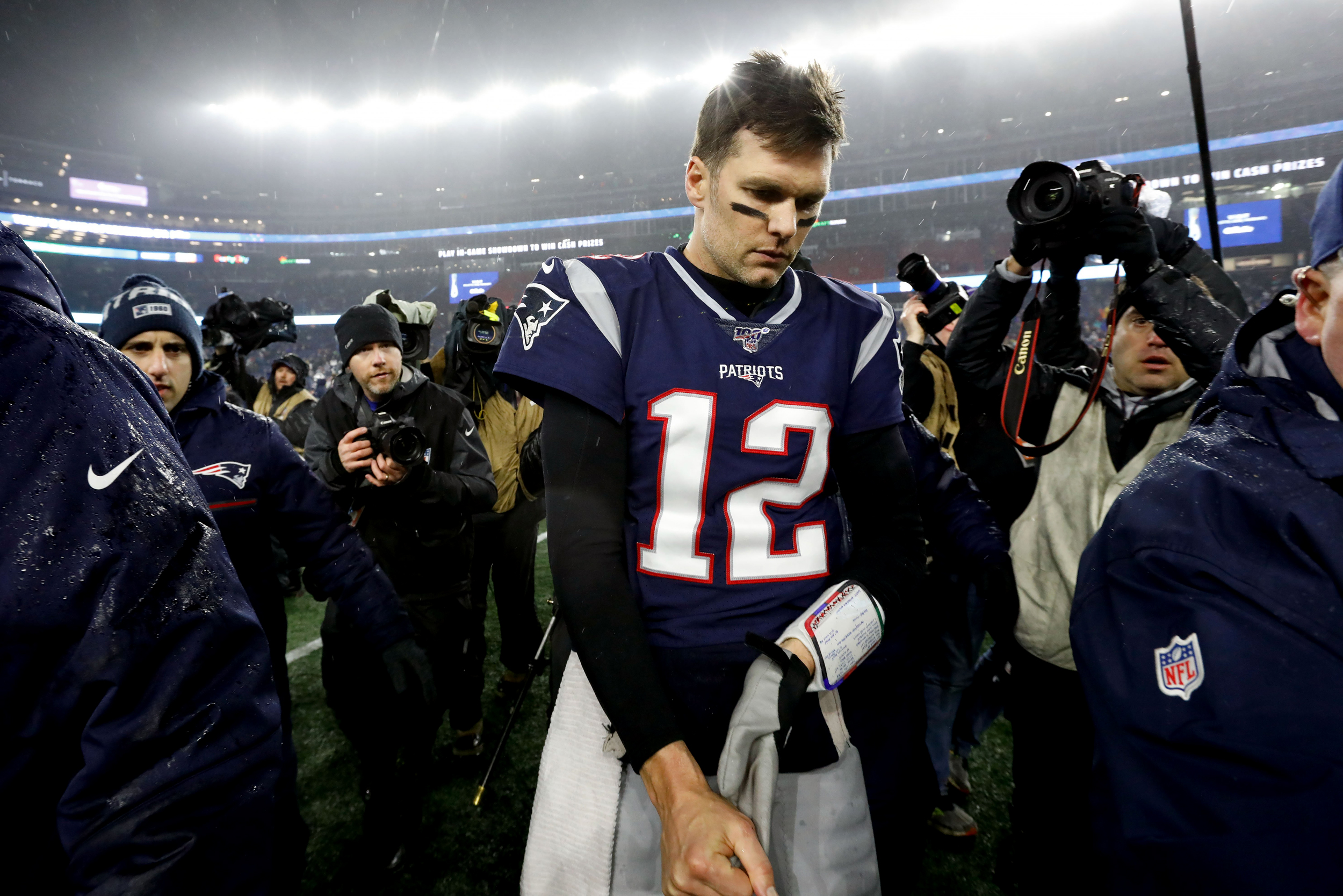 New England Patriots stunned by Tennessee Titans as rumors swirl ...