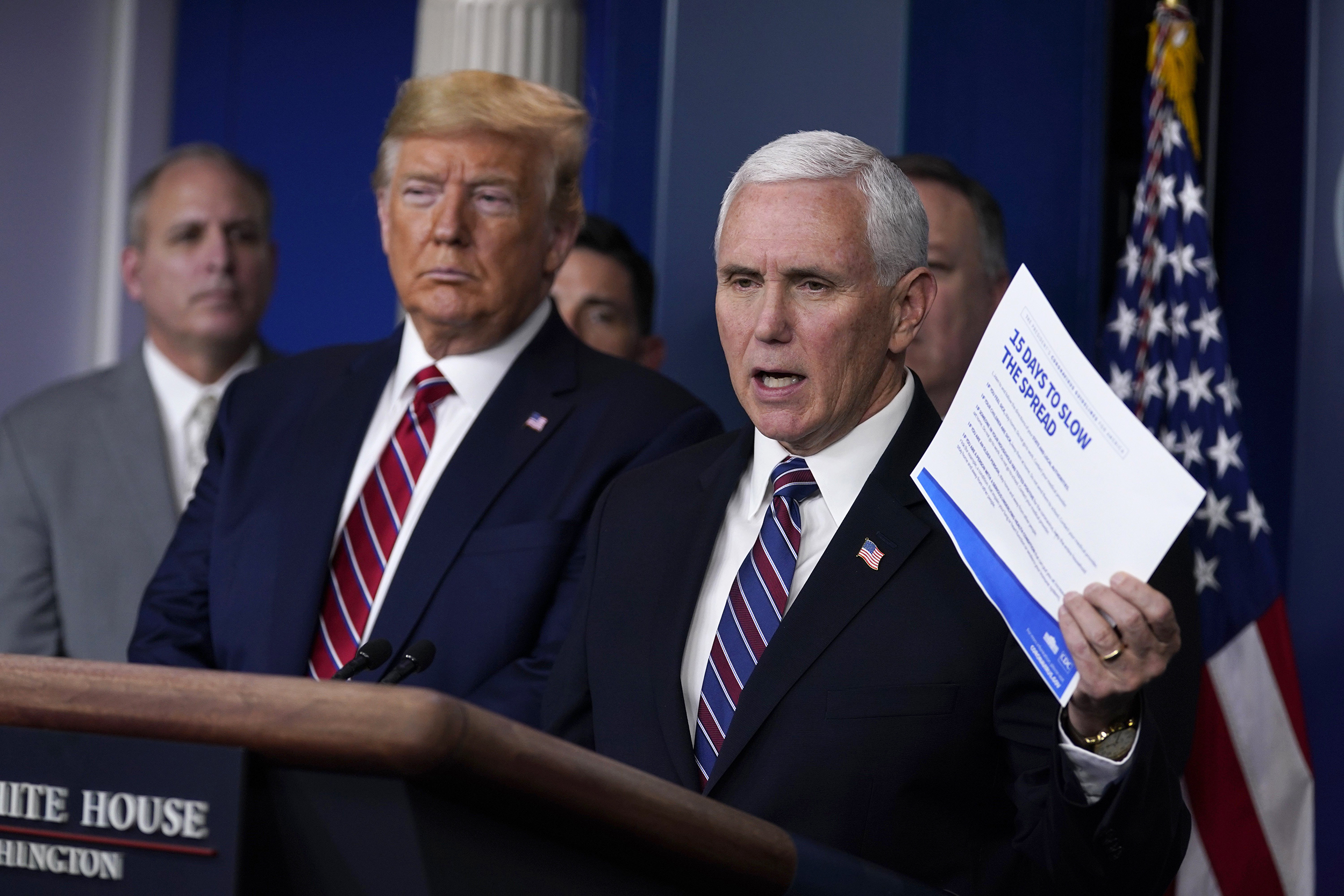 mike pence vice president Staffer for Vice President Mike Pence tests positive for the