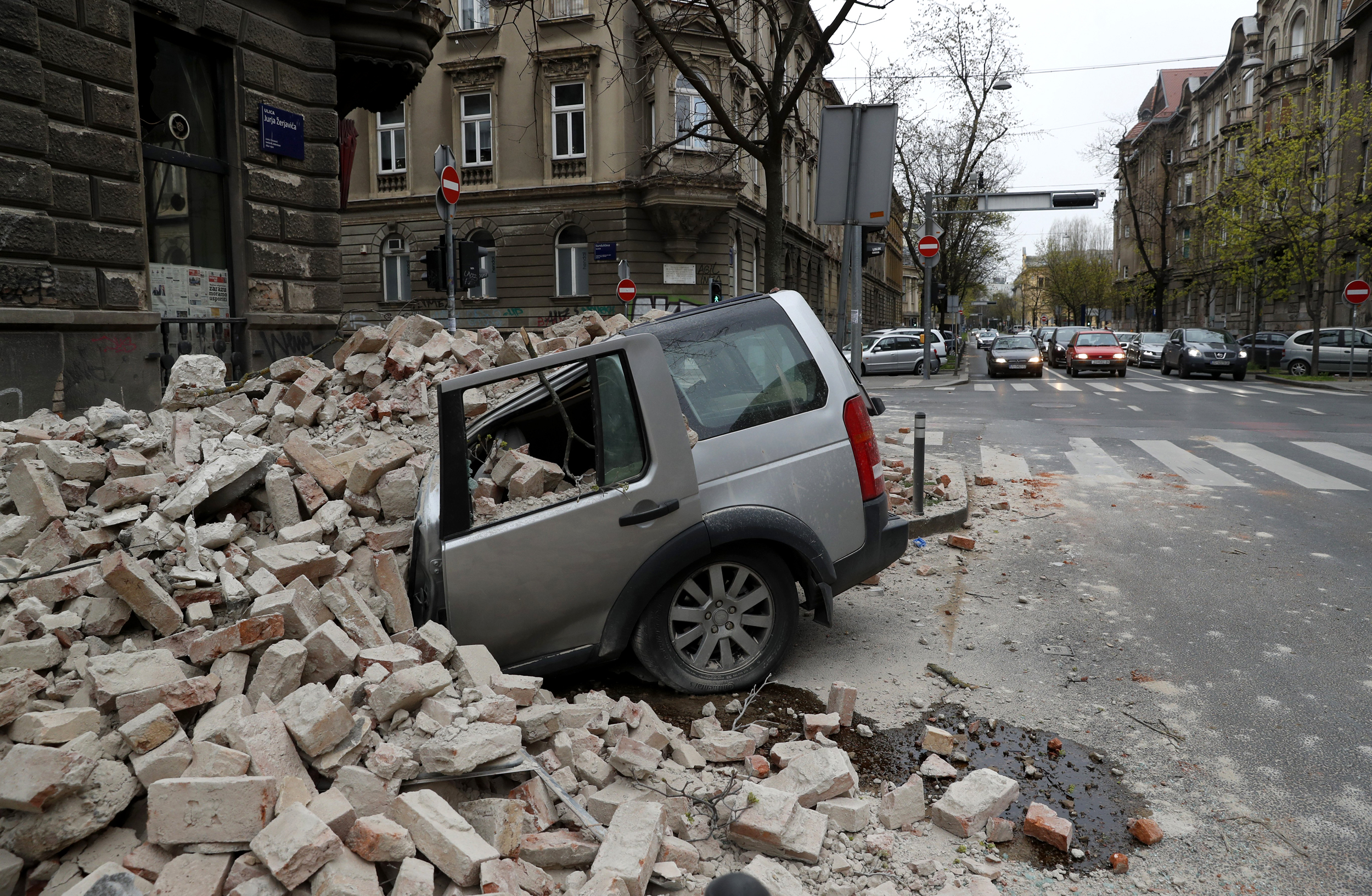 Strong Earthquake Rocks Croatia Causing Widespread Panic And Damage In Capital