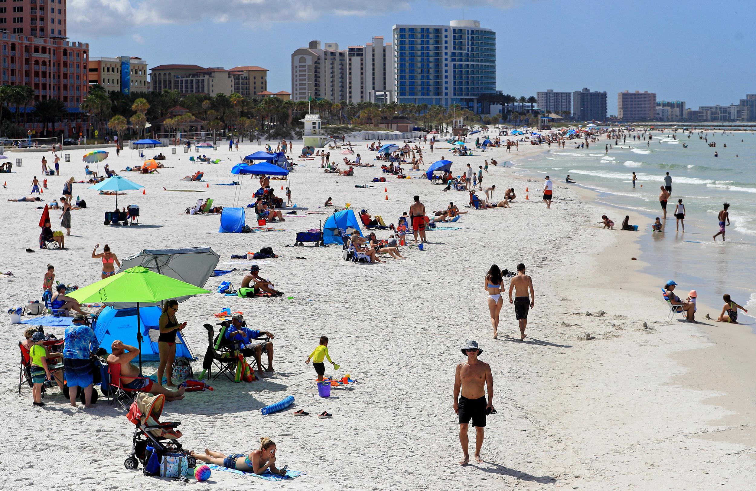 Florida Governor Takes Heat For State S Slow Response To Coronavirus Crisis