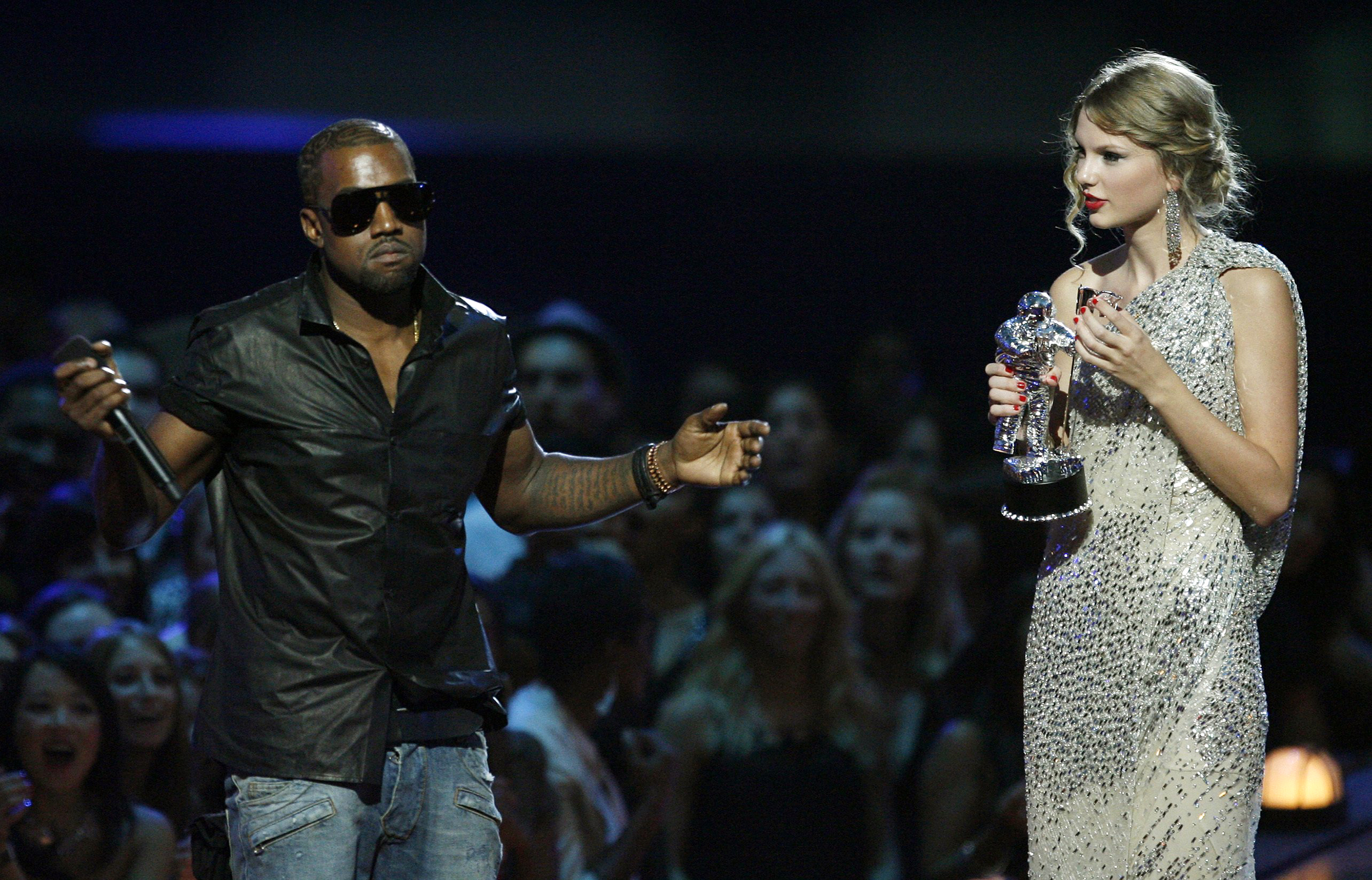 Taylor Swift Uses Leaked Kanye West Video To Raise Money For Charity Coronavirus Efforts