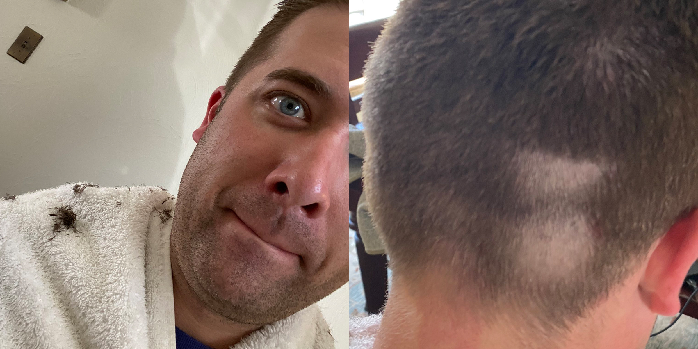 People Are Sharing Hilarious Photos Of Their Quarantine Haircuts