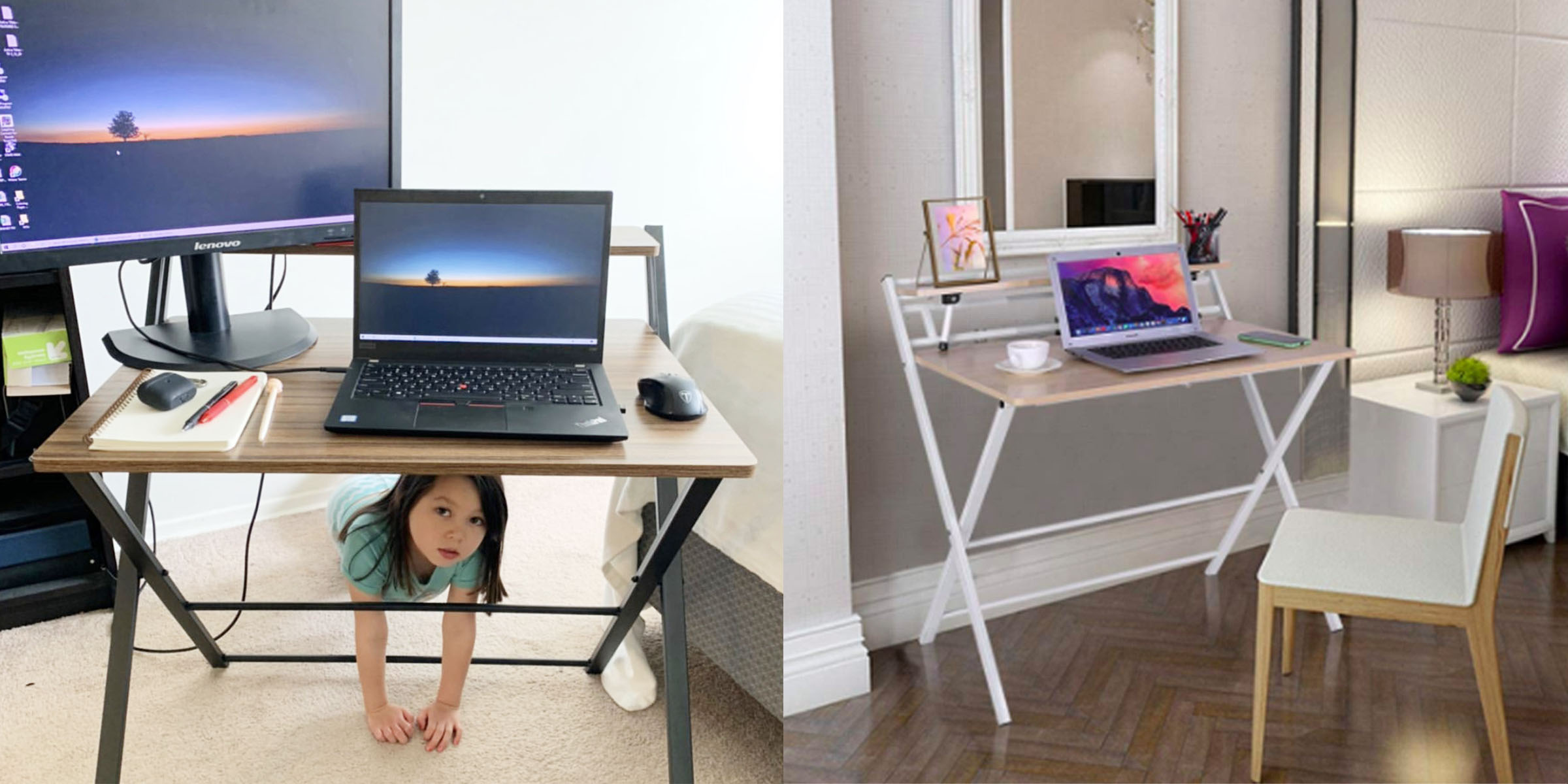 This Foldable Desk For Working From