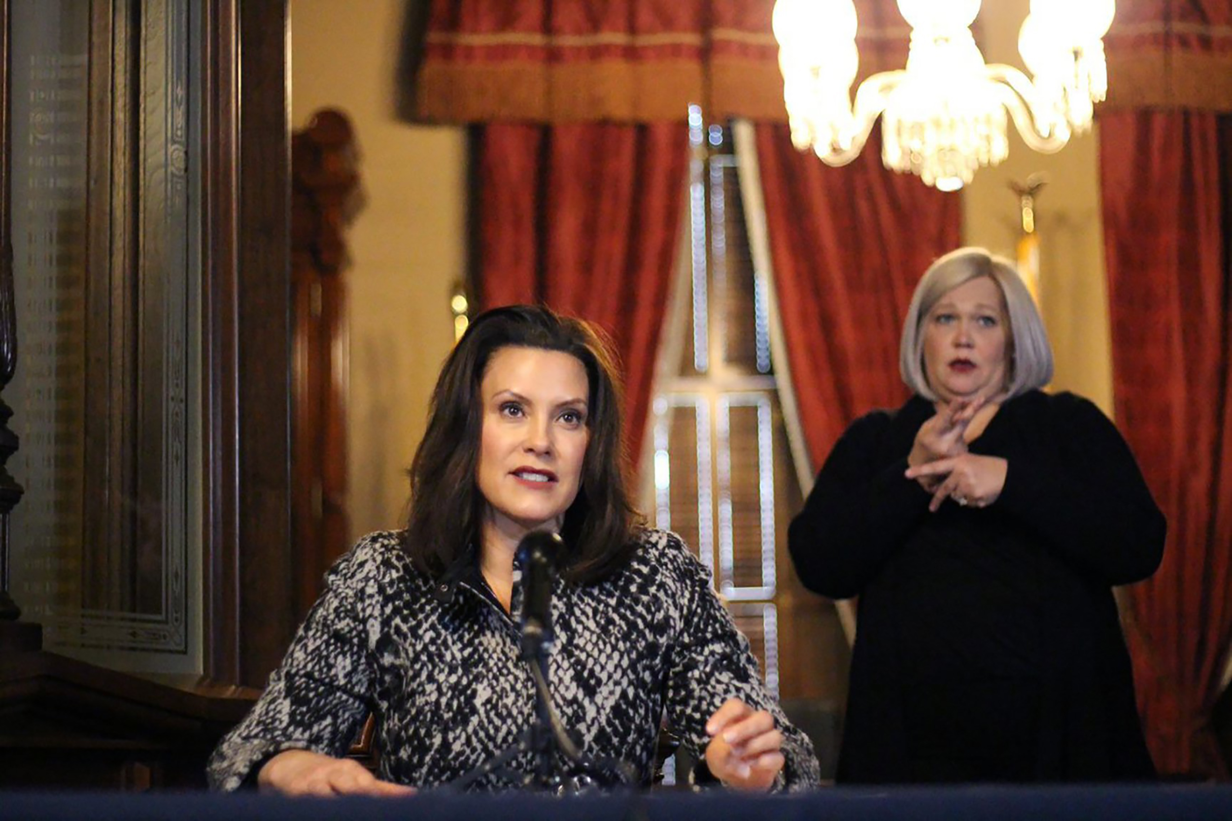 Michigan Gov. Whitmer faces fierce backlash over strict stay-at ...