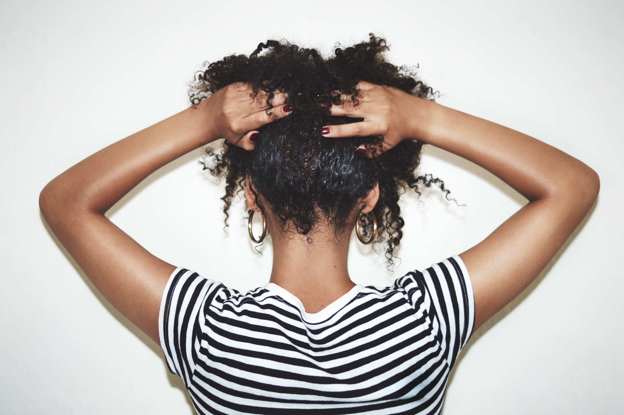 For Many Black Women During Salon Closures Home Styling Is A Hair Raising Challenge