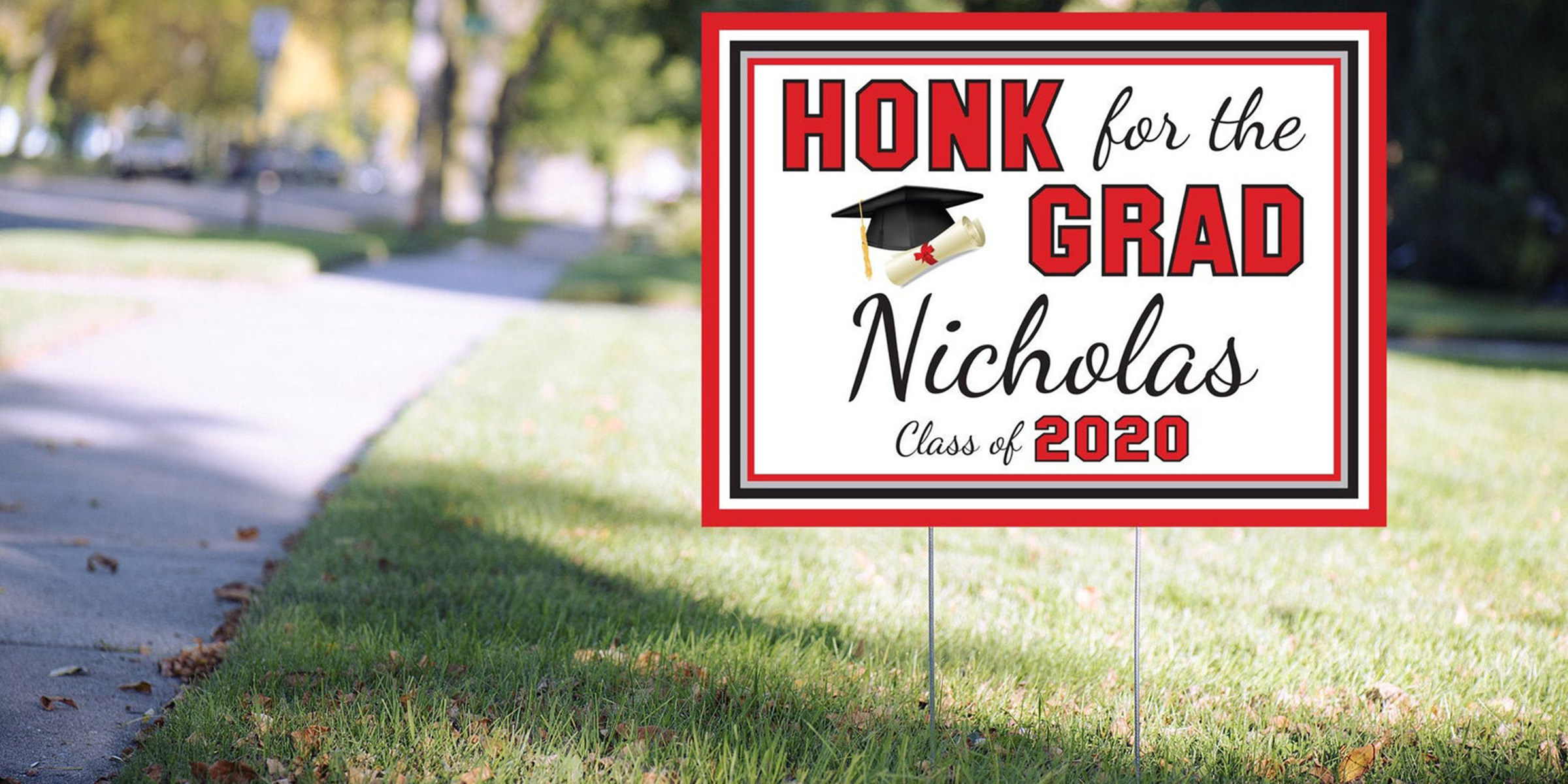 Graduation Signs Are Taking Over Social