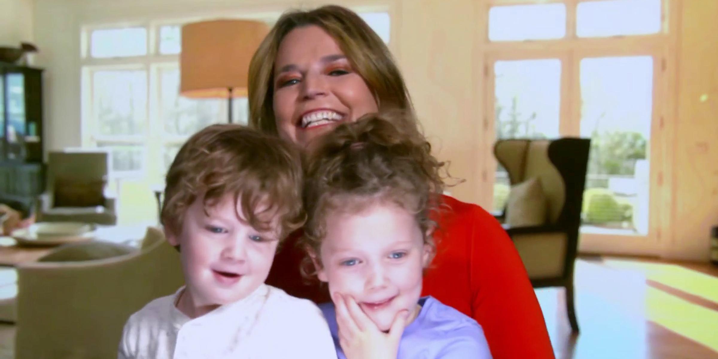 Savannah Guthrie S Kids Steal Spotlight On Today