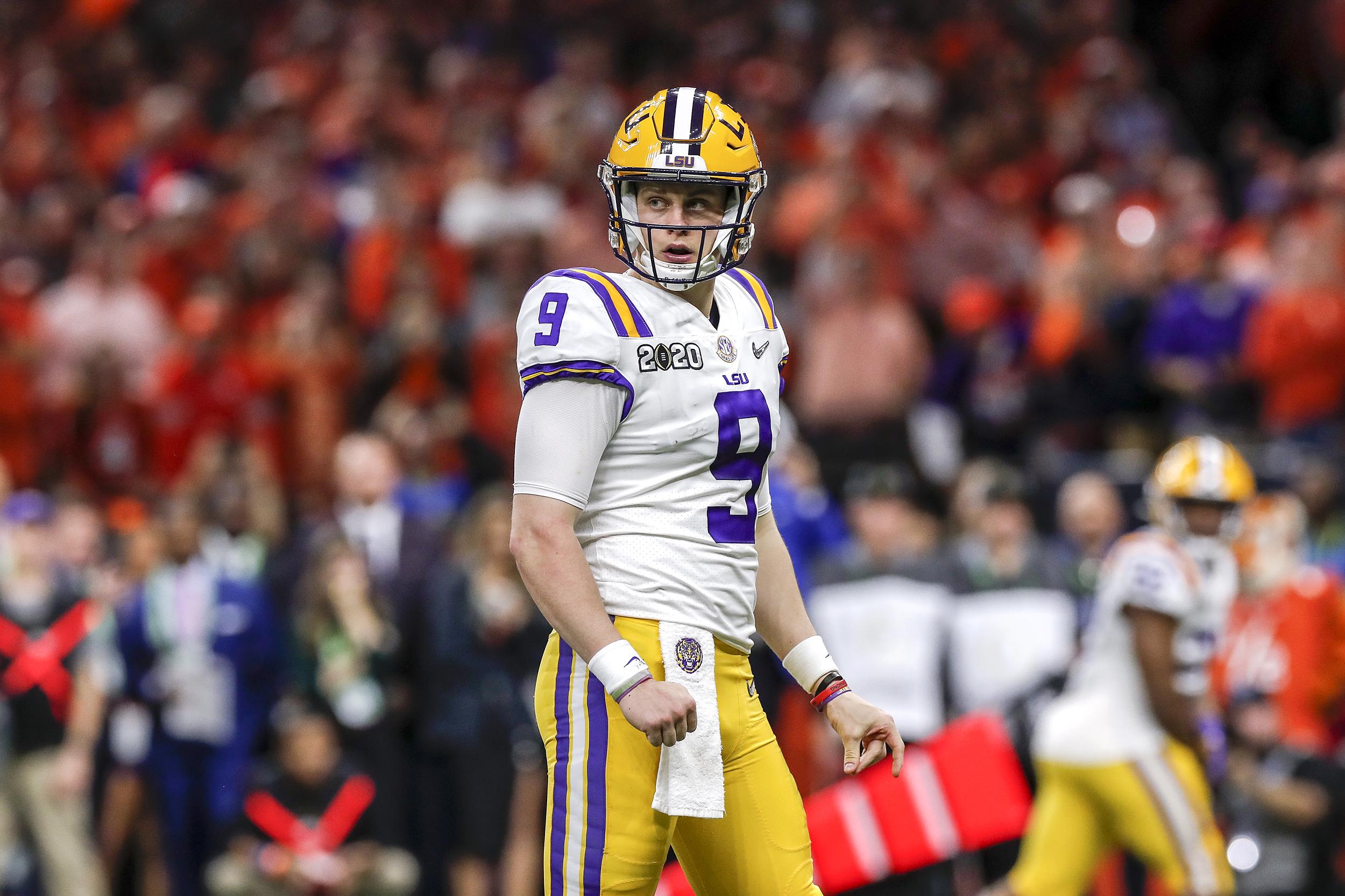 Cincinnati Bengals take LSU quarterback Joe Burrow as No. 1 pick in NFL  draft