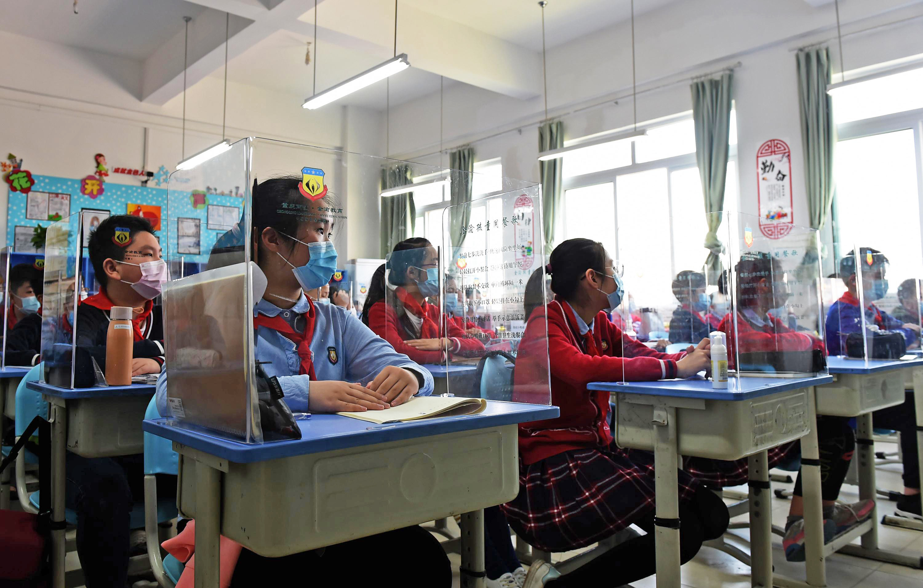 Image result for plexiglass cubicles in schools