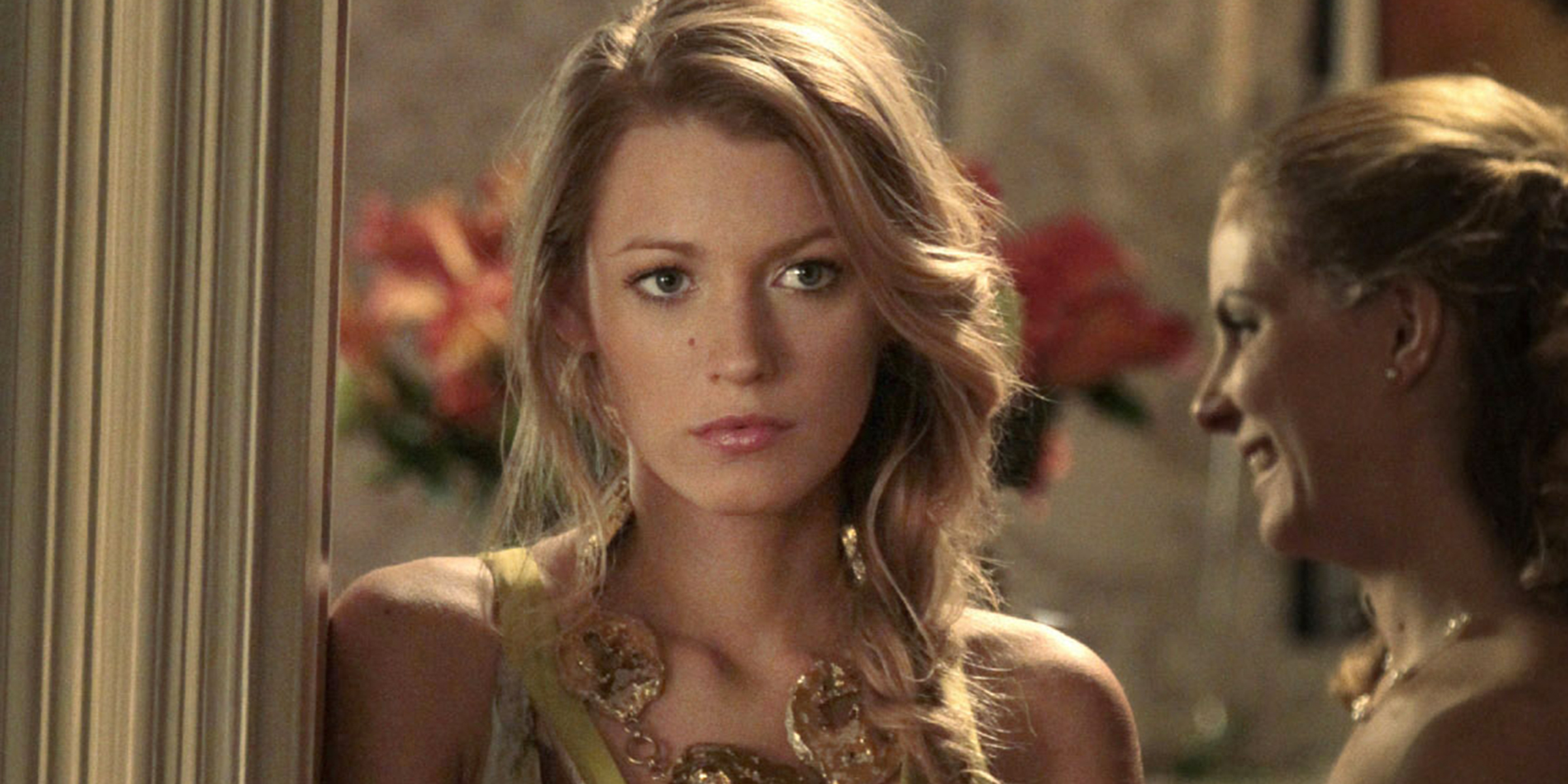 Blake Lively as Serena on Gossip Girl expressed concern about the message her character sent out.