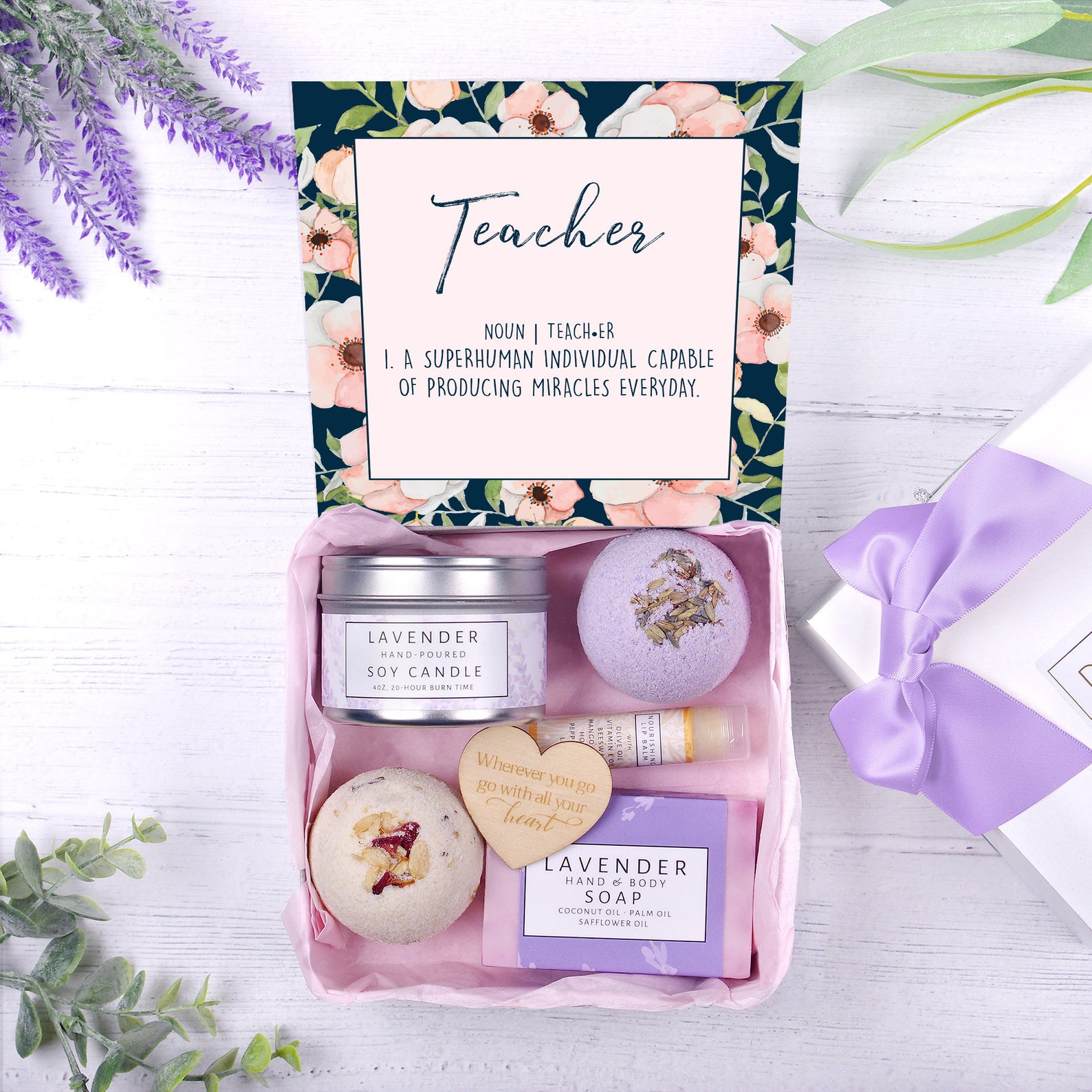 Housewarming Gift New Home Gift Moving Gift Box Love Grows Best in Little Houses Personalized Soy Candle and Succulent Gift Box