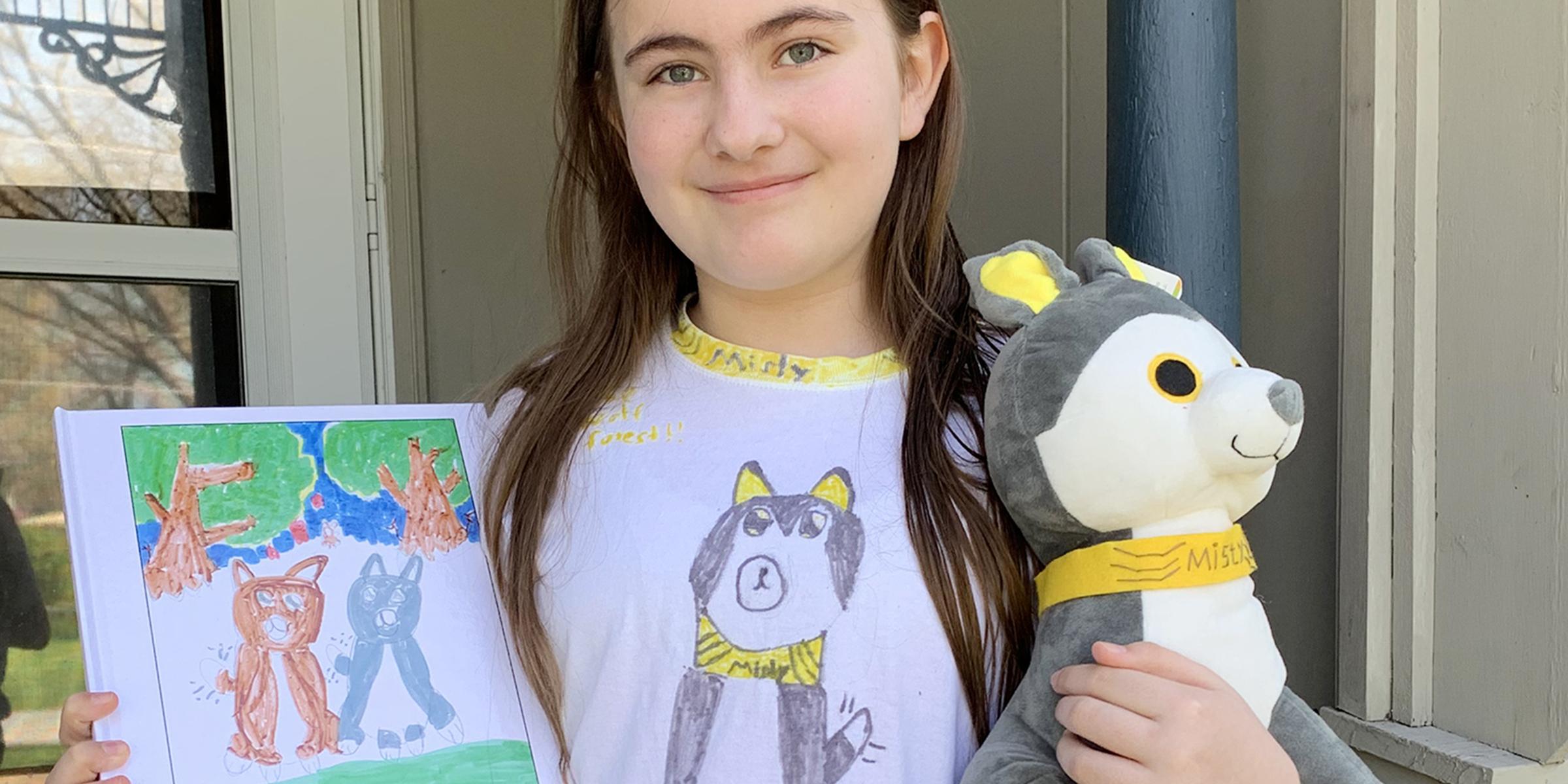 Brittany Stuffed Animal, Grade School Teacher Turns Student Art Into Stuffed Animals