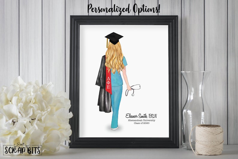 Teacher Appreciation PRINTABLE Mothers Day Gift Fom Husband College Graduation Gift For Her Unicorn High School Graduation Gift For Her