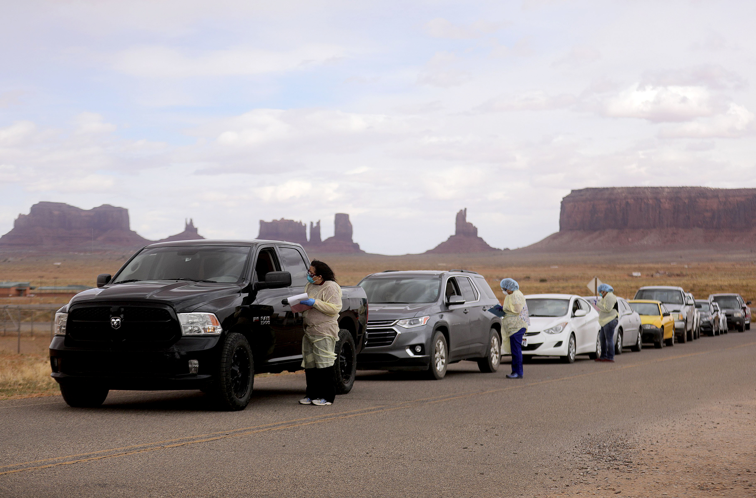 The Navajo Nation 'didn't politicize wearing masks.' Its efforts are paying off — for now.