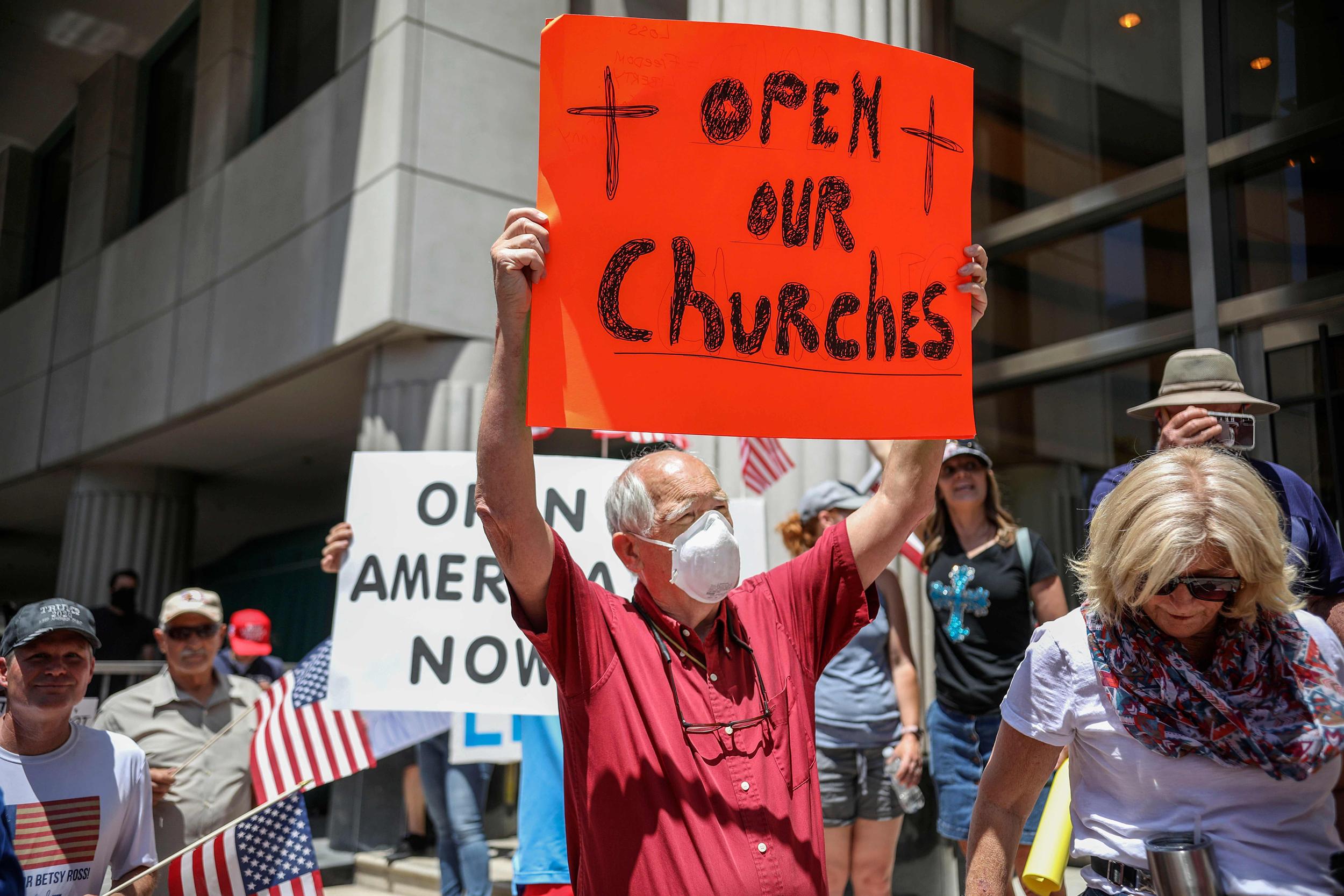 Is the Coronavirus, God's punishment on man? - the anti-church virus