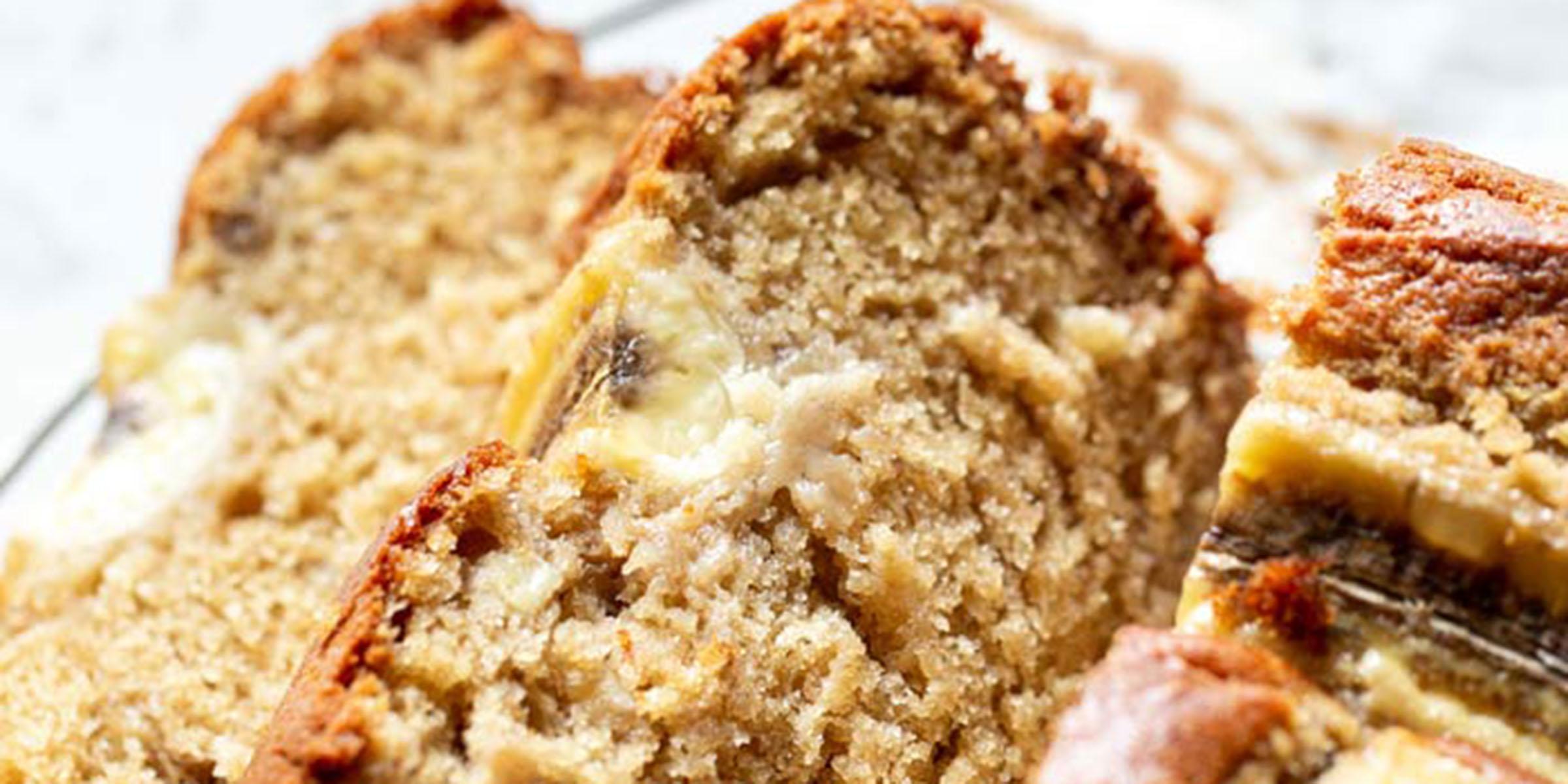 Use overripe bananas to make easy and delicious banana bread