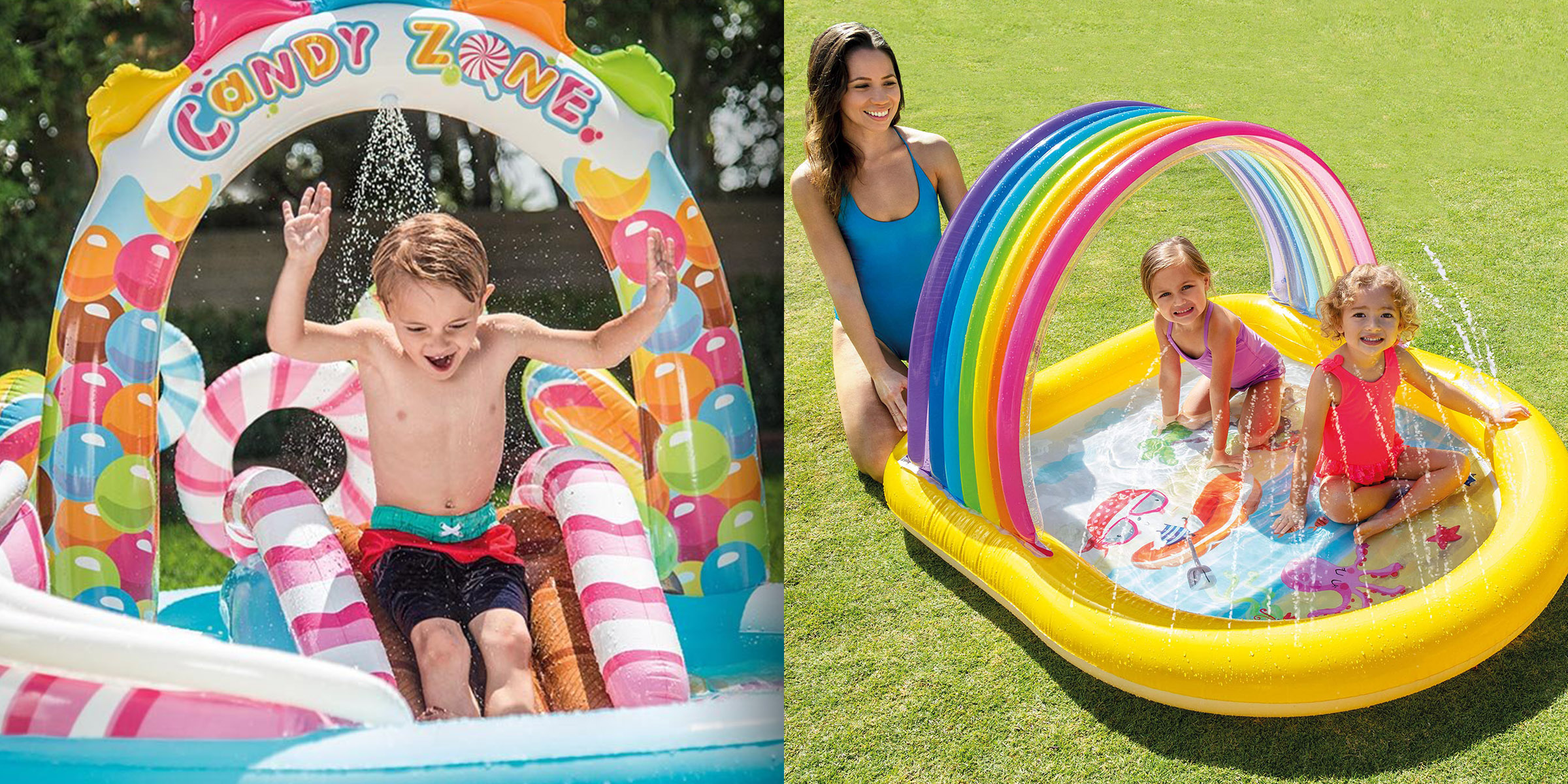 Swimming Kiddie Pool Cool Hamburger Above Ground Kid Summer Water Unique Fun NEW
