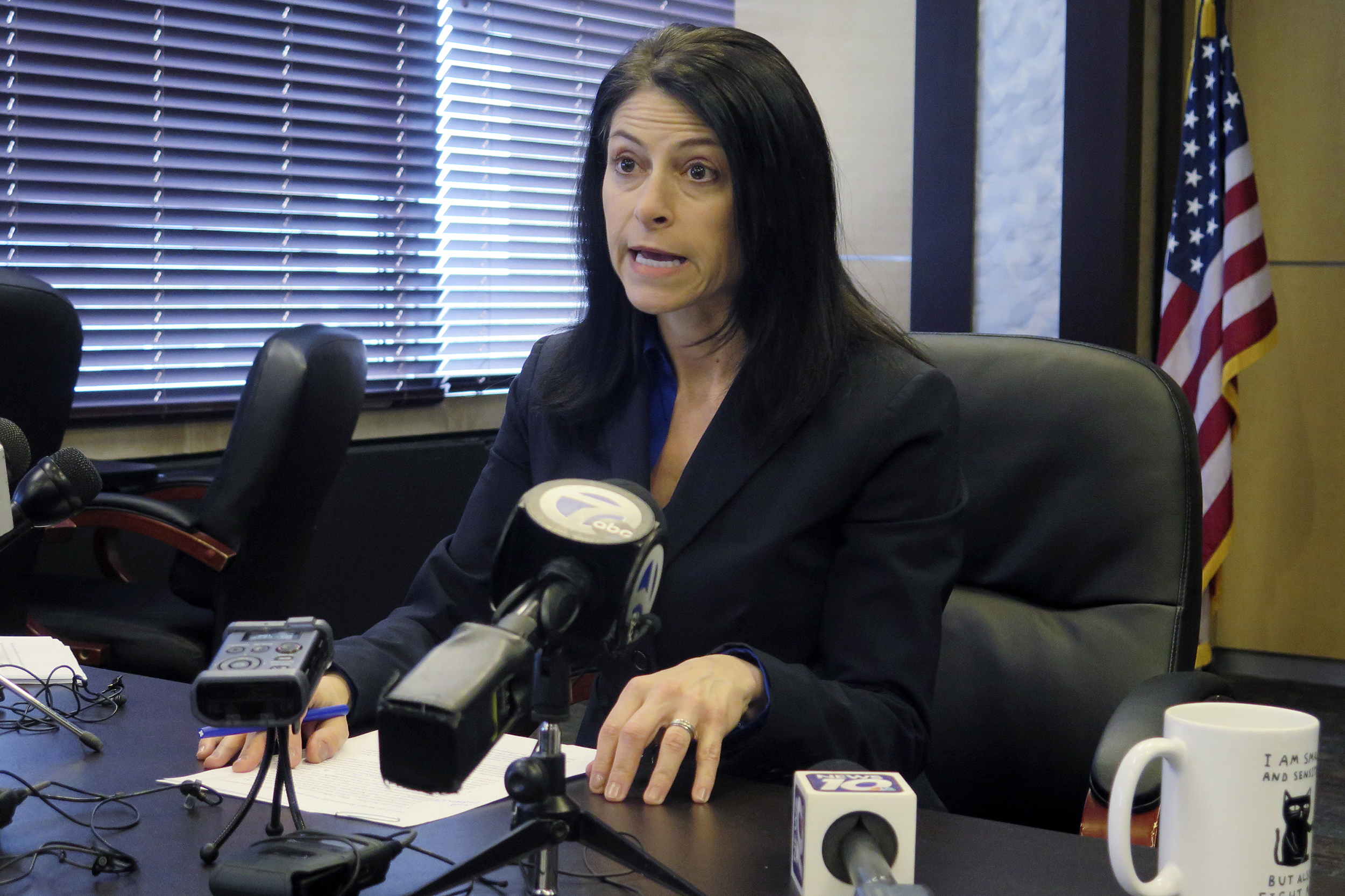 Impressed you know my name': Michigan Attorney General Dana Nessel is  taking on Trump over coronavirus