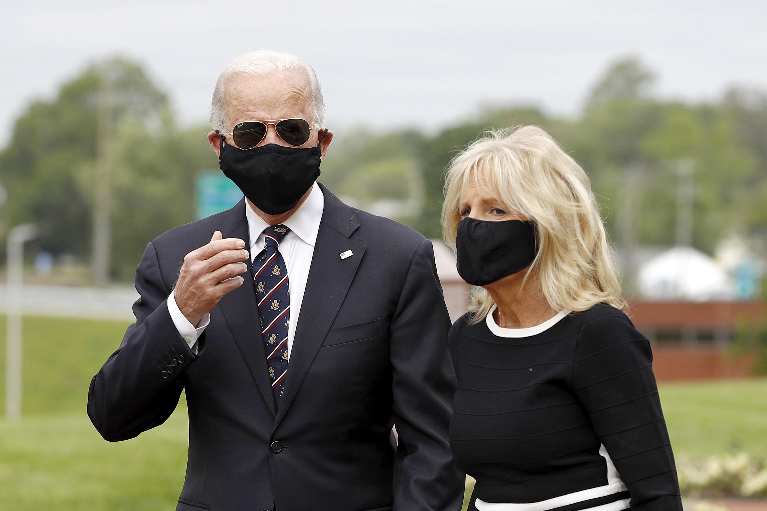 Running Mates: As Biden considers VP pick, Jill Biden is at his side